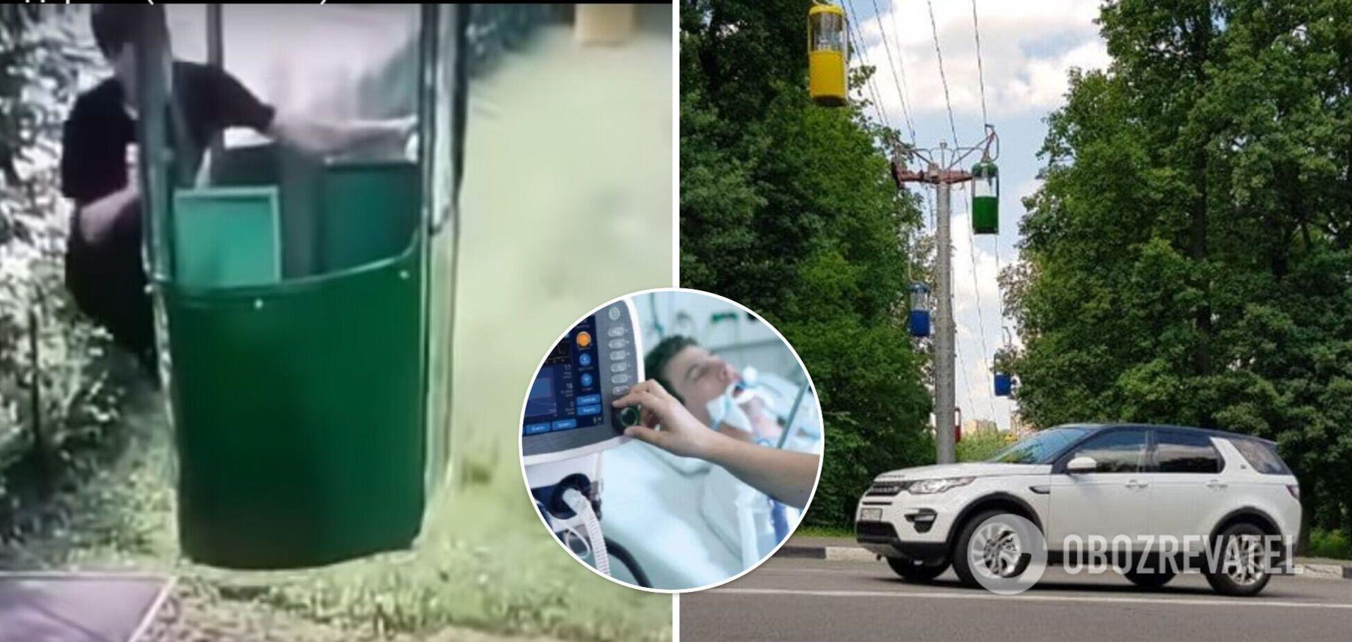 У Харкові медики рятують хлопця, який випав із кабінки канатної дороги: є дві версії НП
