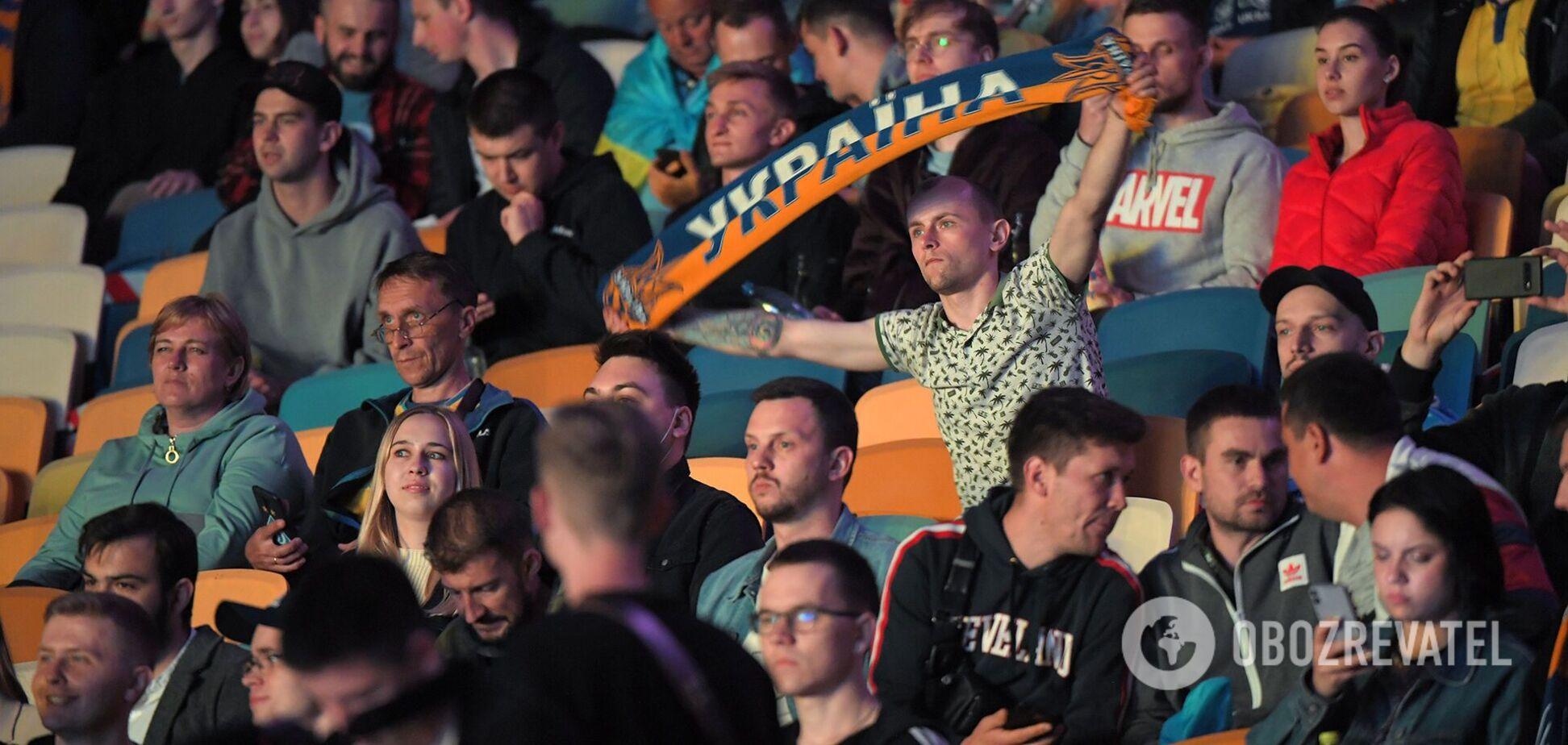 Євро 2020: 10 тисяч українців підтримали національну збірну на Олімпійському