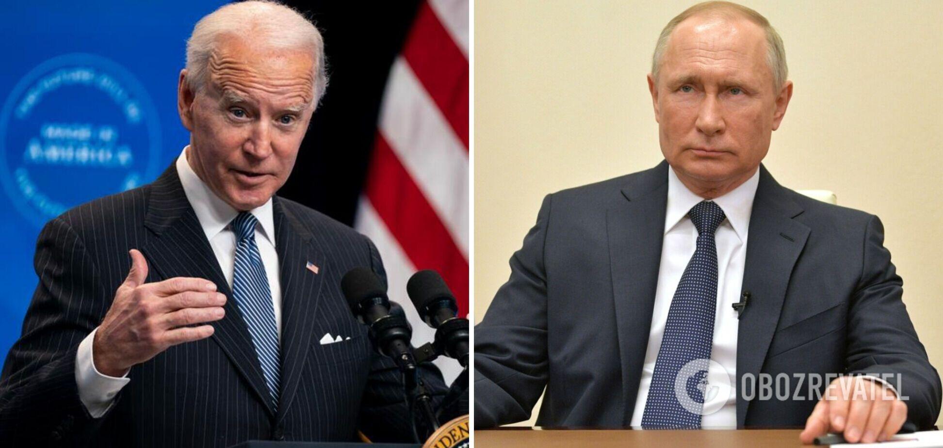 Переговори Байдена і Путіна