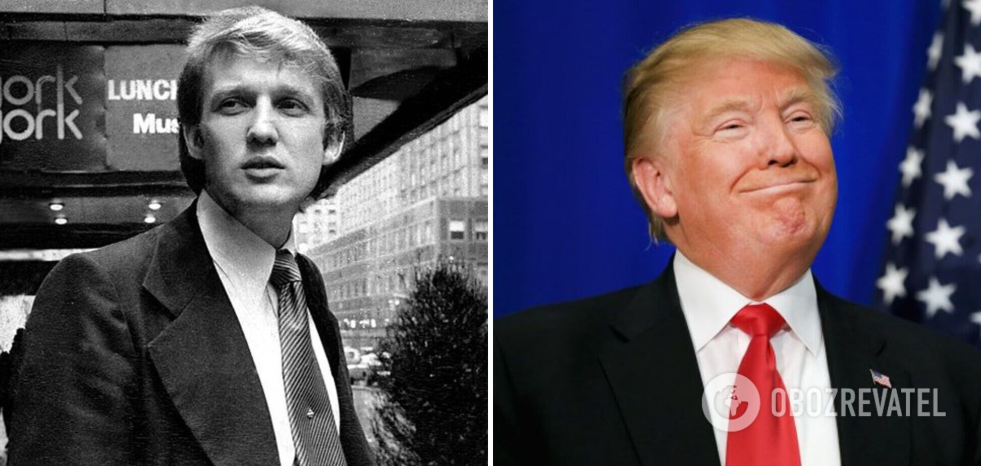 Дональд Трамп почав свою кар'єру в батьківській компанії
