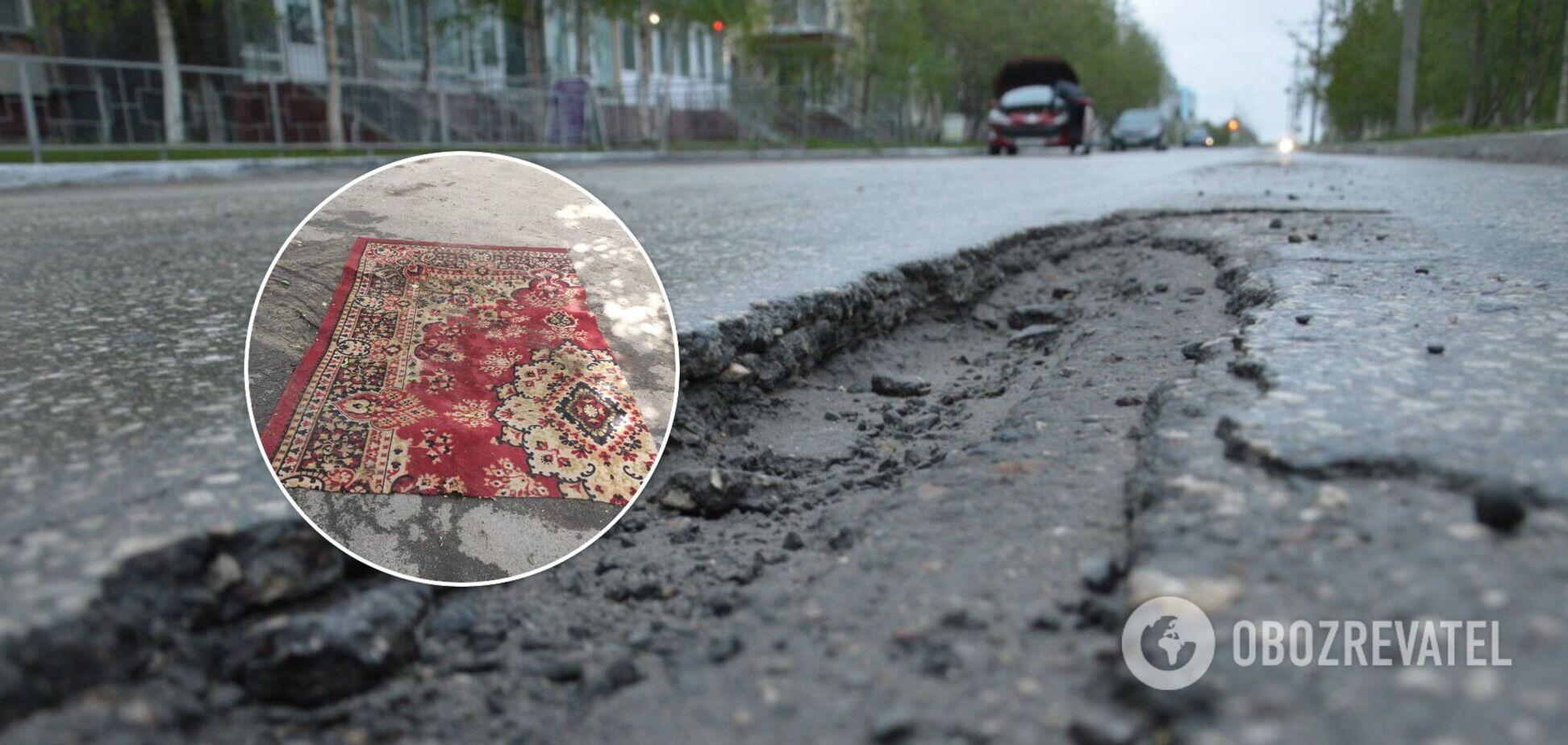 Необычный «ремонт» заметили на улице Волынской, 8