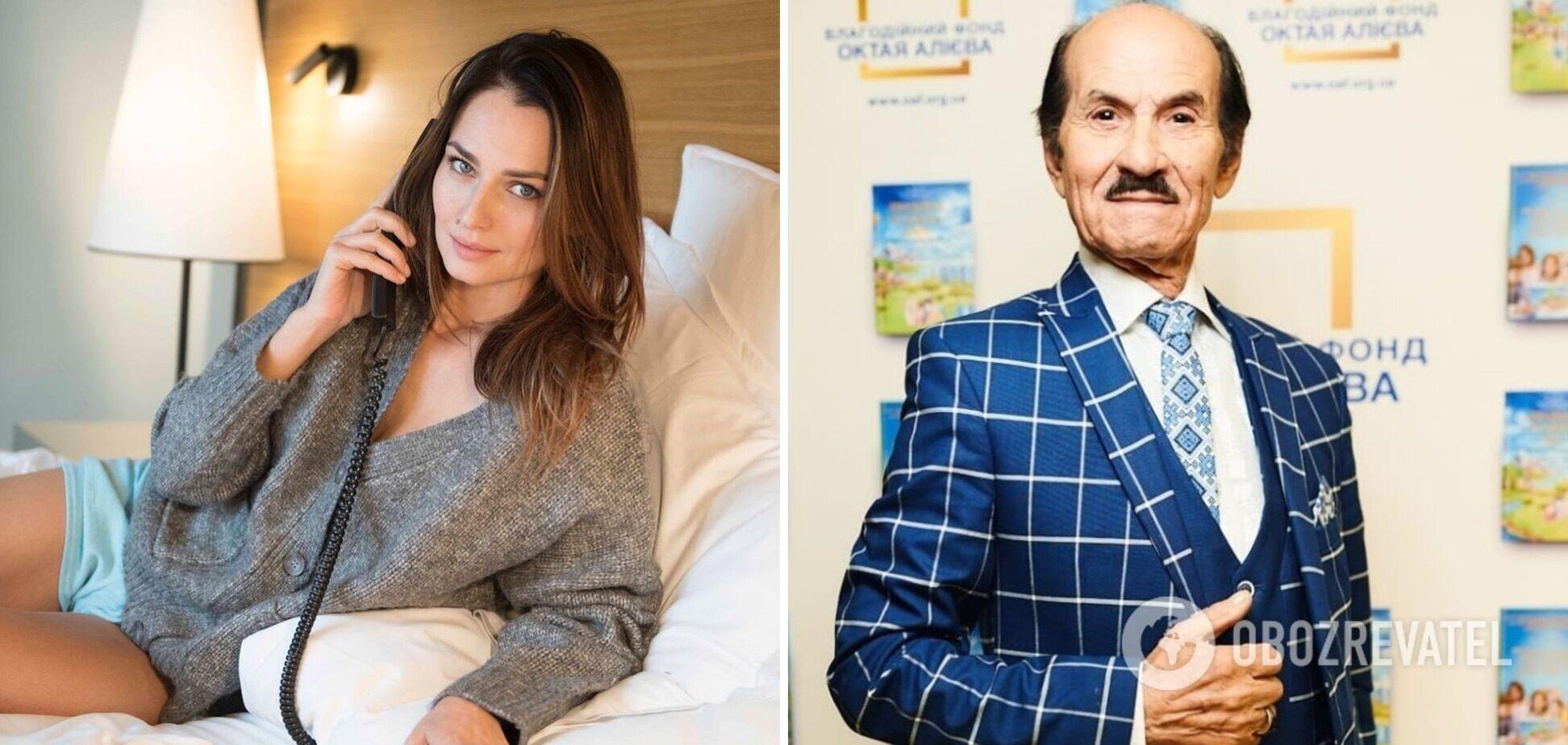 Внучку Чапкиса новость о смерти дедушки застала на отдыхе в Греции