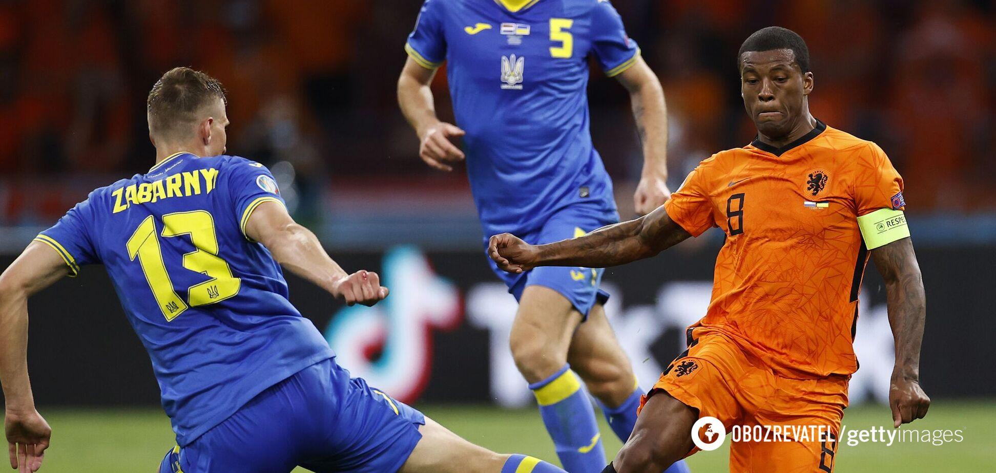 Нидерланды – Украина: видеообзор матча Евро-2020