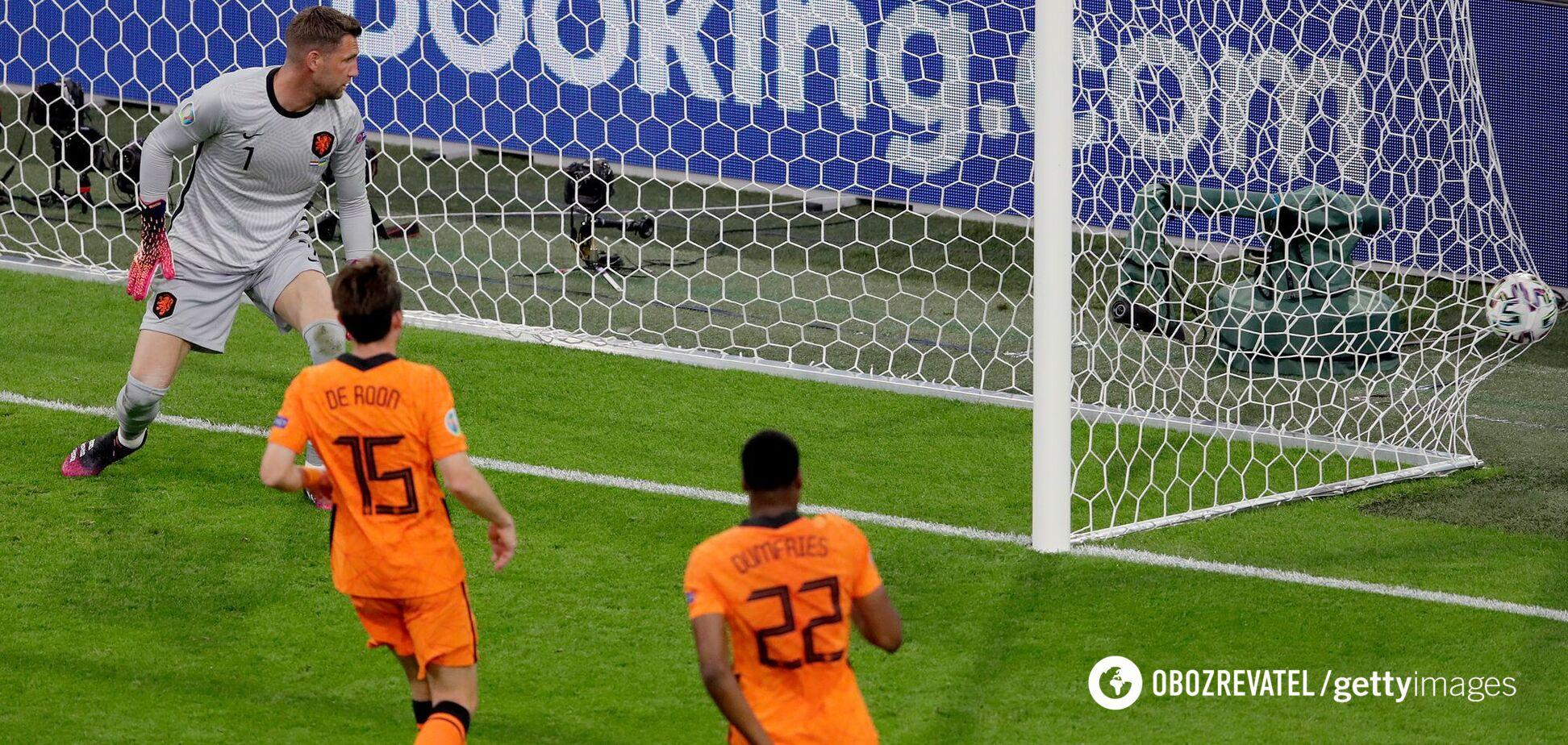 Нидерланды – Украина: видео голов матча Евро-2020