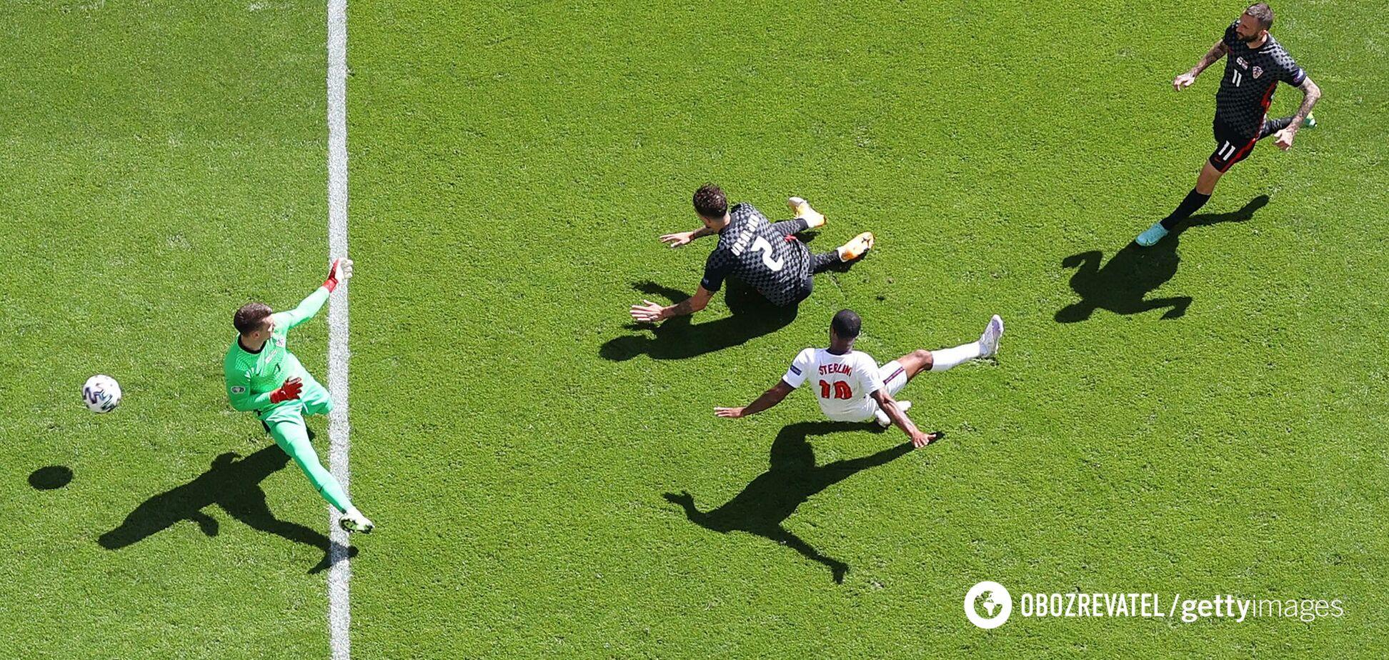 Англія – Хорватія: відеоогляд матчу Євро-2020