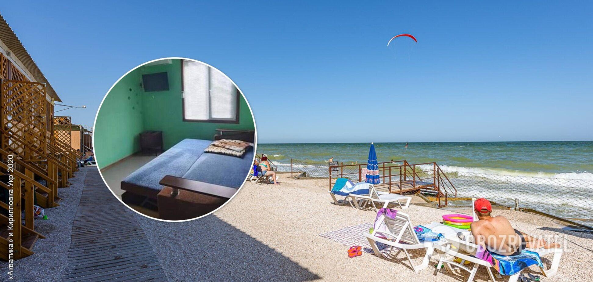 У курортній Кирилівці почали 'оживати' пляжі