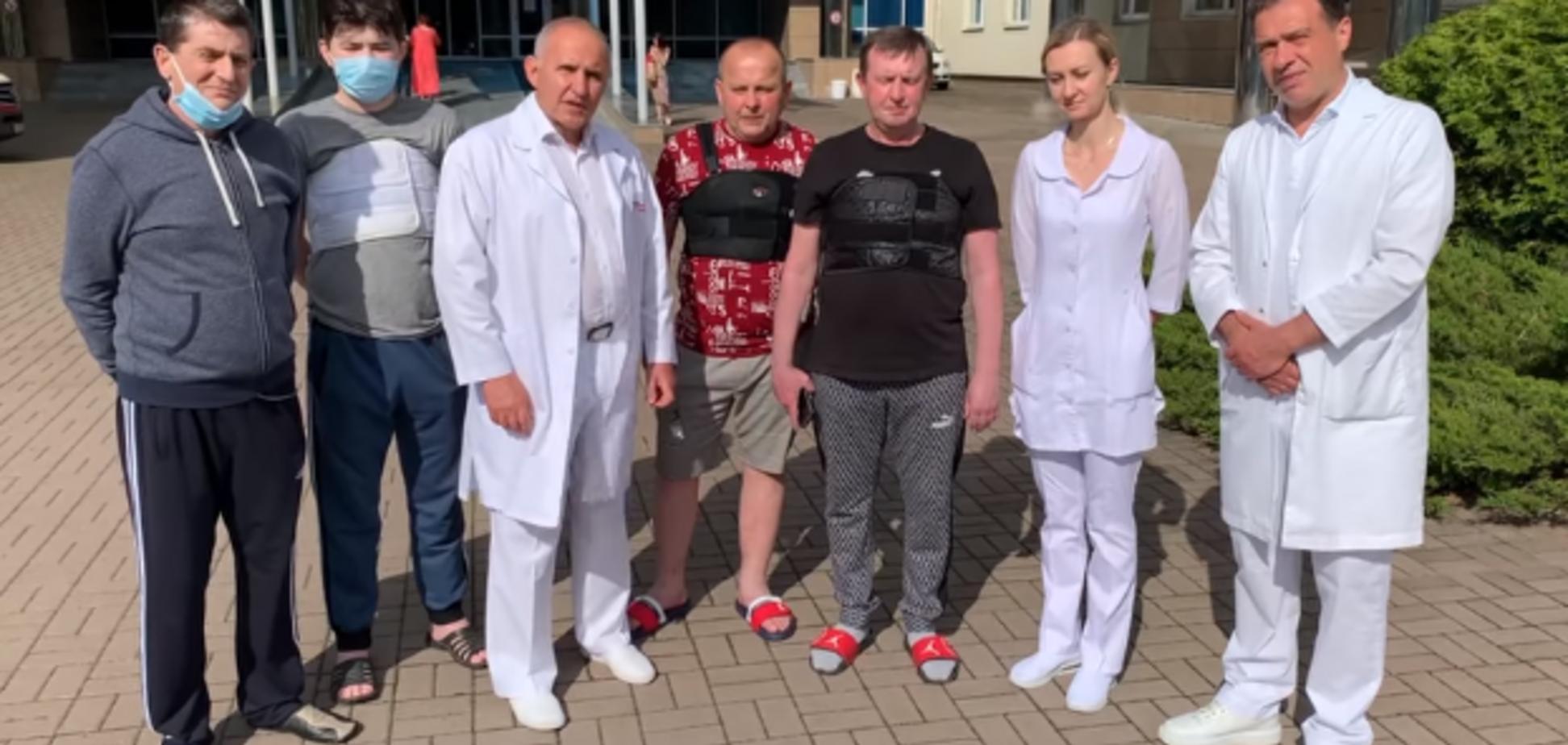 Виписали чотирьох пацієнтів після трансплантації серця