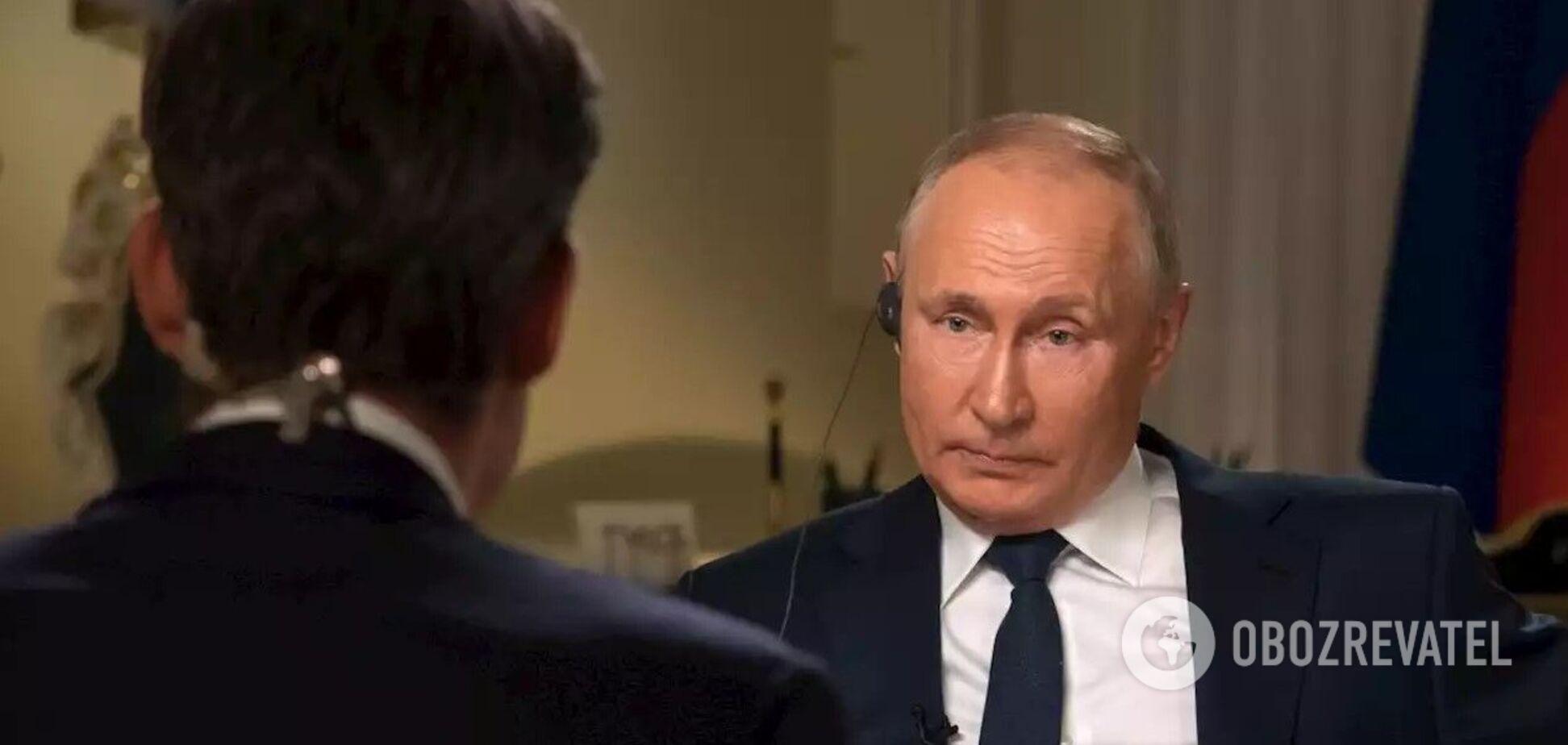 Путин: у нас нет привычки кого-то убивать