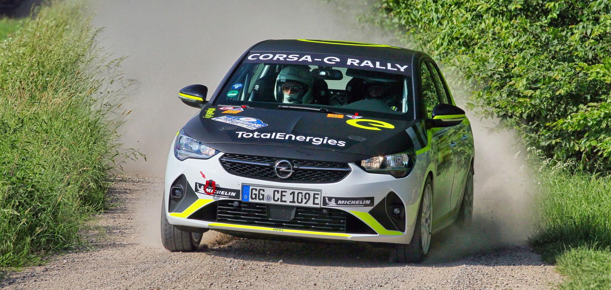 Електричний Opel пройшов 'бойове хрещення' на ралі