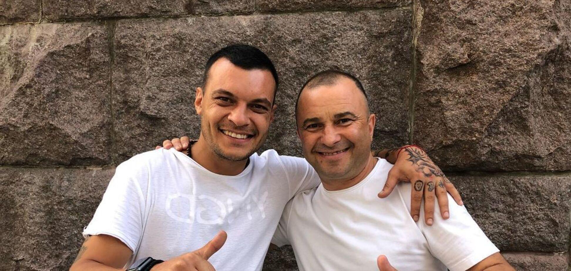 Віктор Павлік із сином Олександром