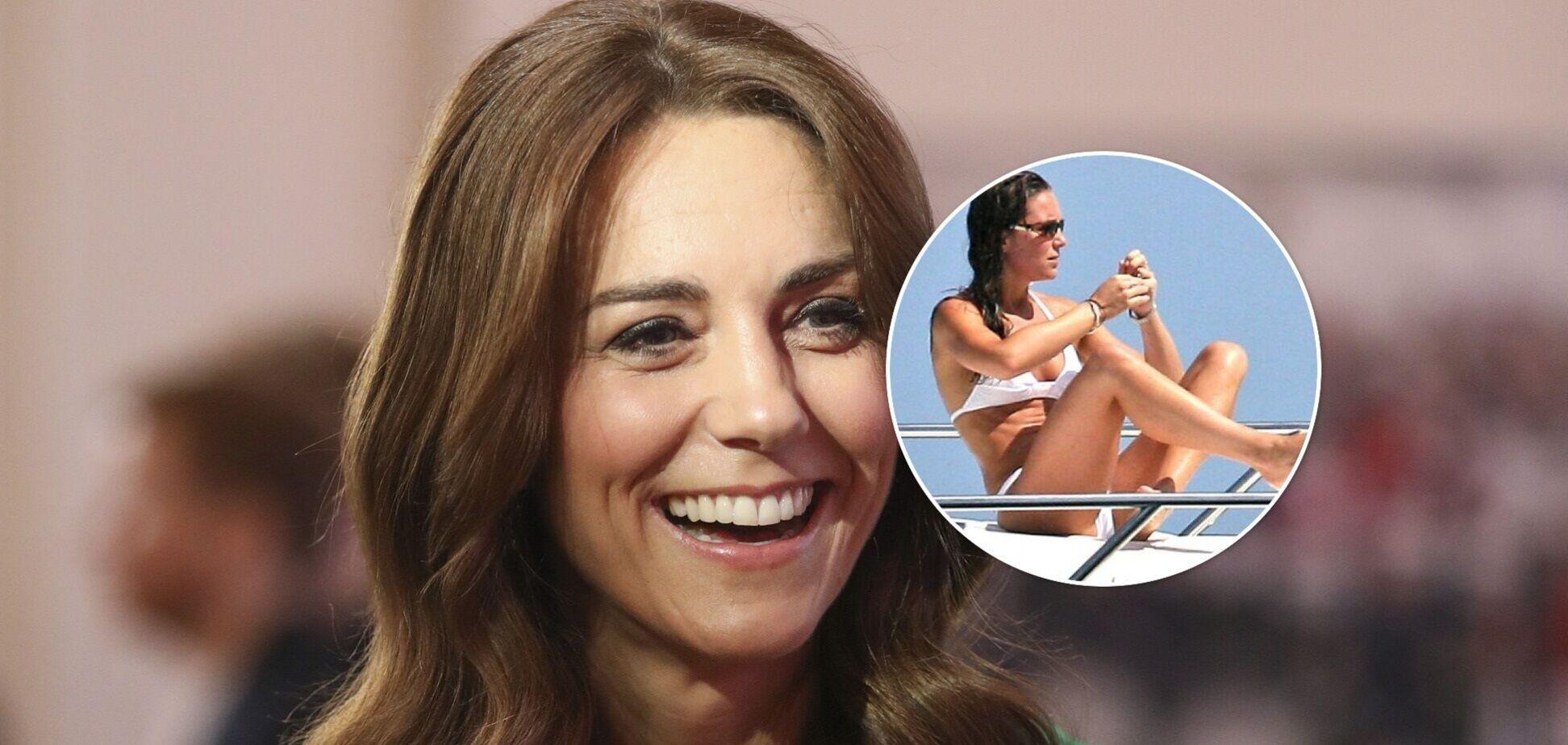 Как Кейт Миддлтон выглядит в купальнике