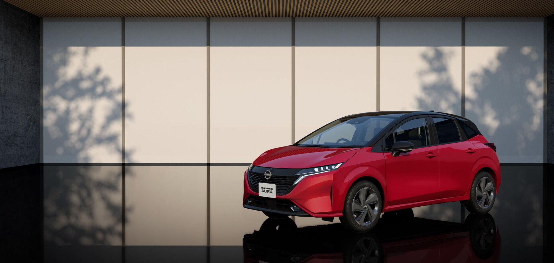 Nissan представил новый хэтчбек Note Aura