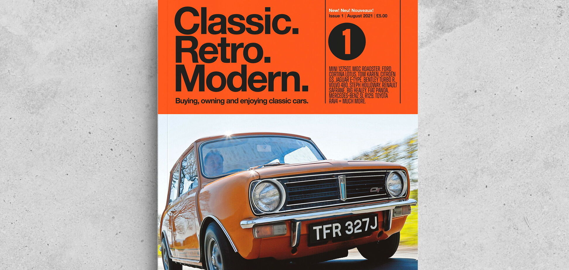У Великобританії з'явився новий журнал для цінителів ретро авто