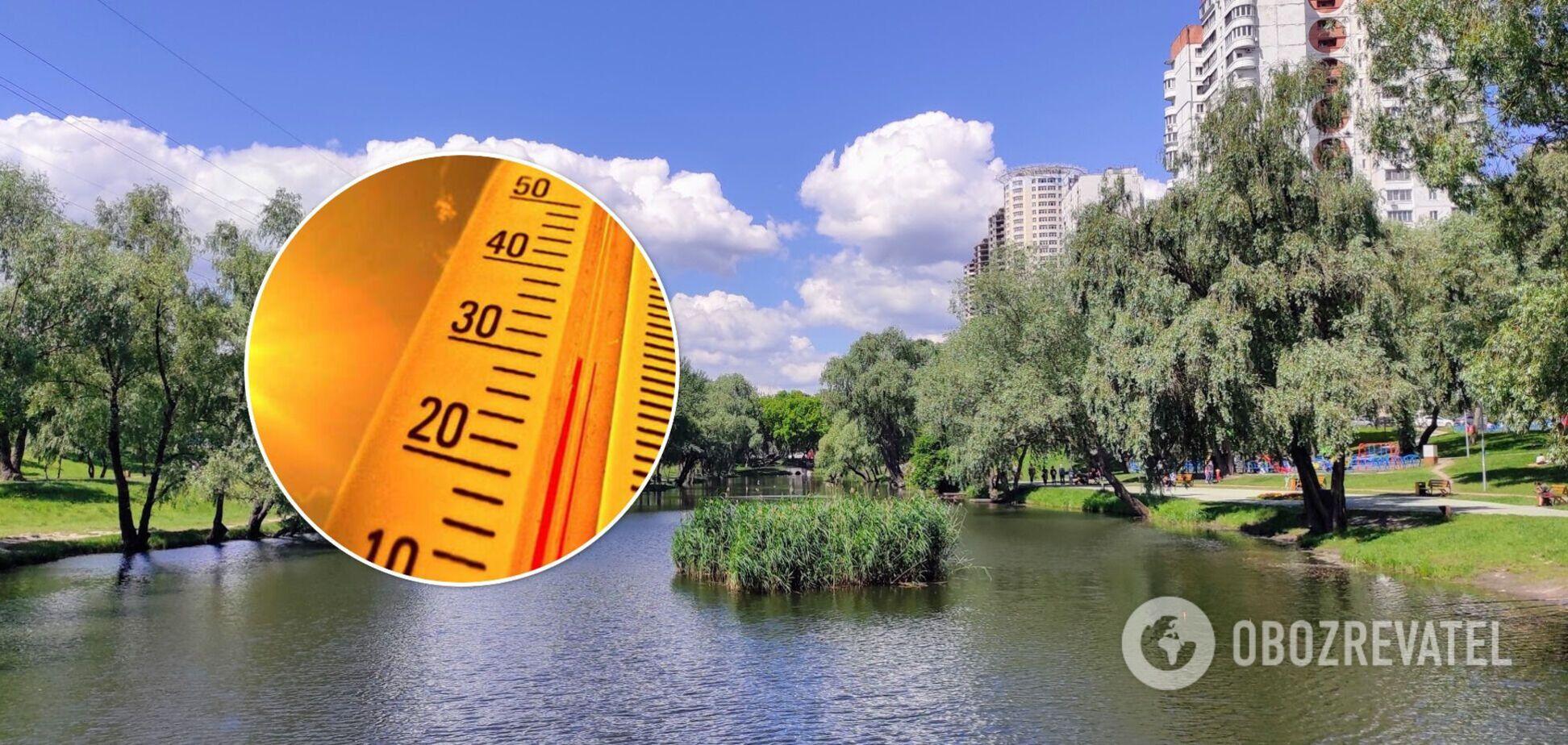 Київ накриє аномальна спека до +34 градусів