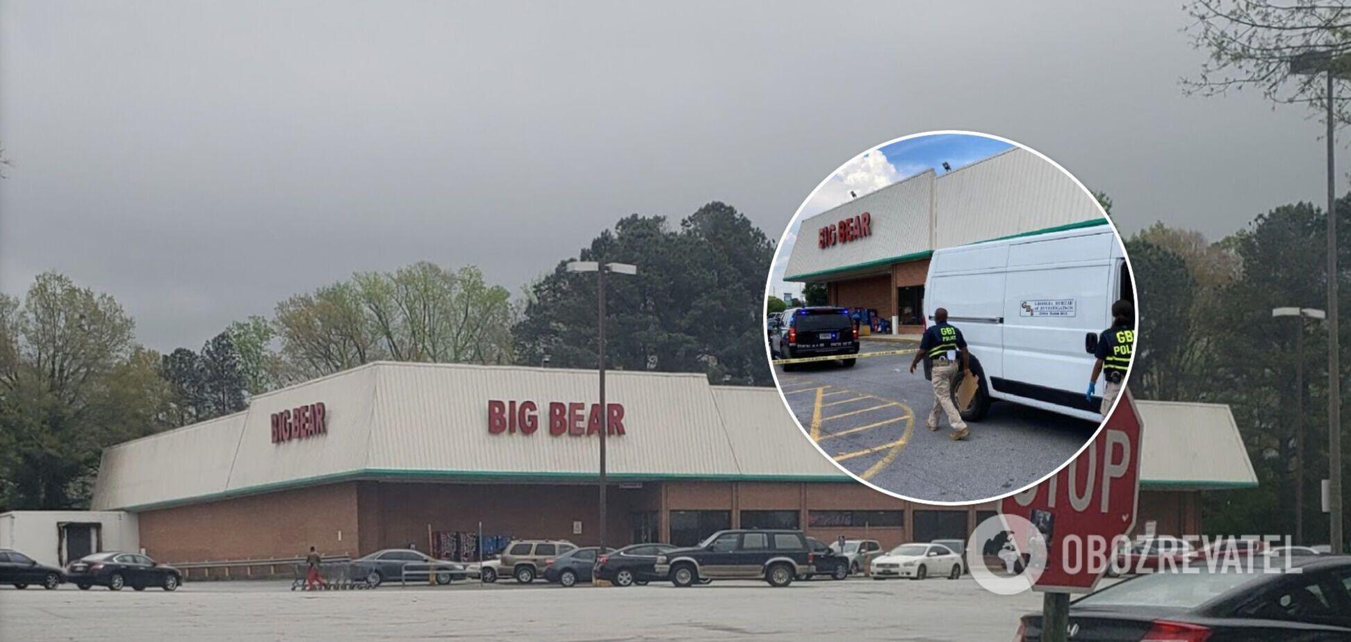 Охранник магазина ранил нападавшего