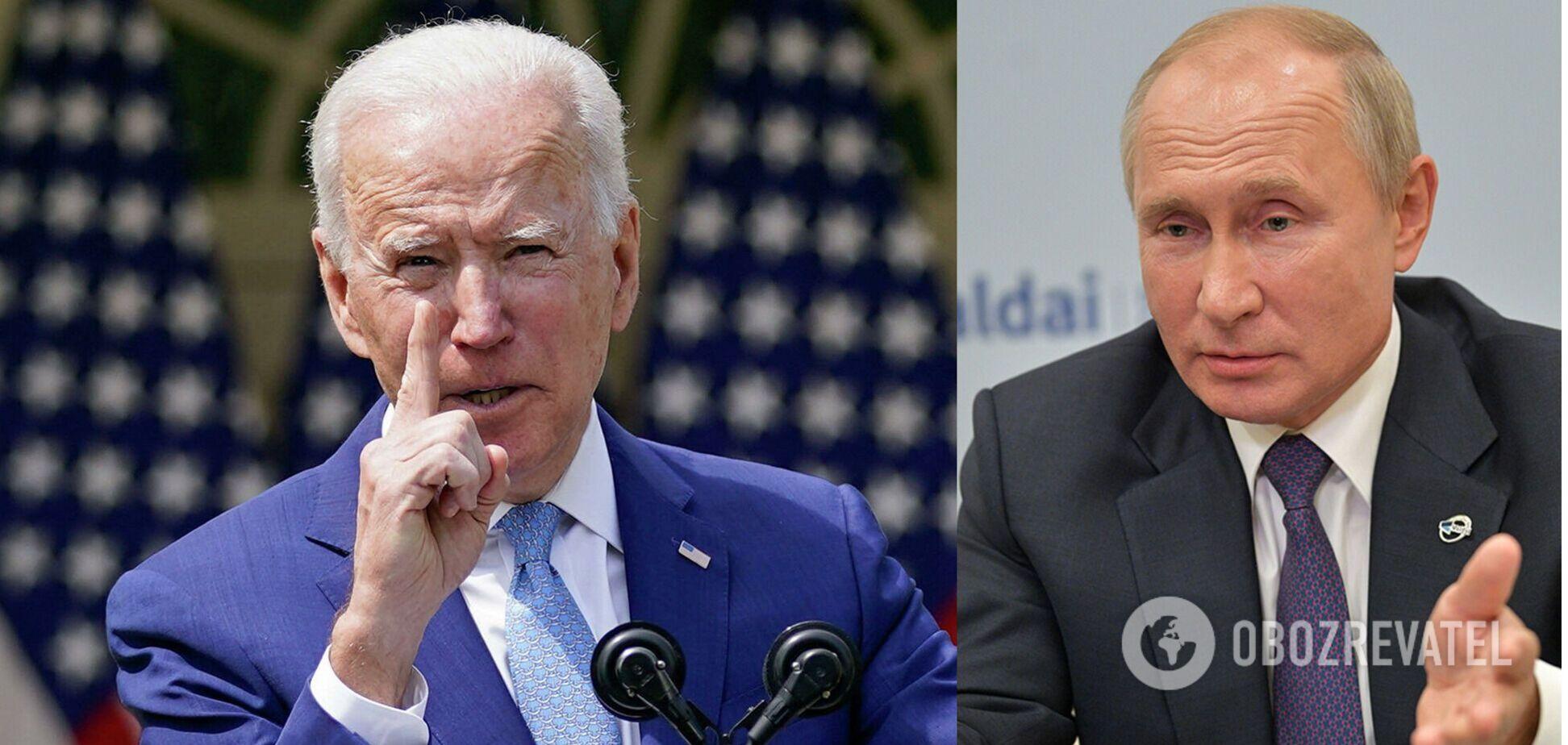 Байдена відрадили від спільної пресконференції з Путіним