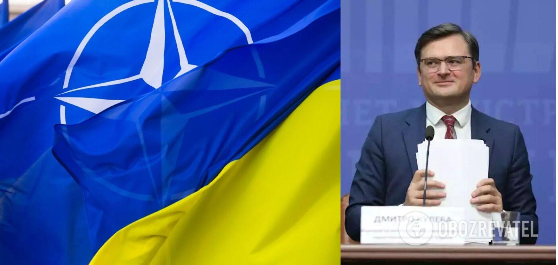 Кулеба прокоментував питання членства України в НАТО