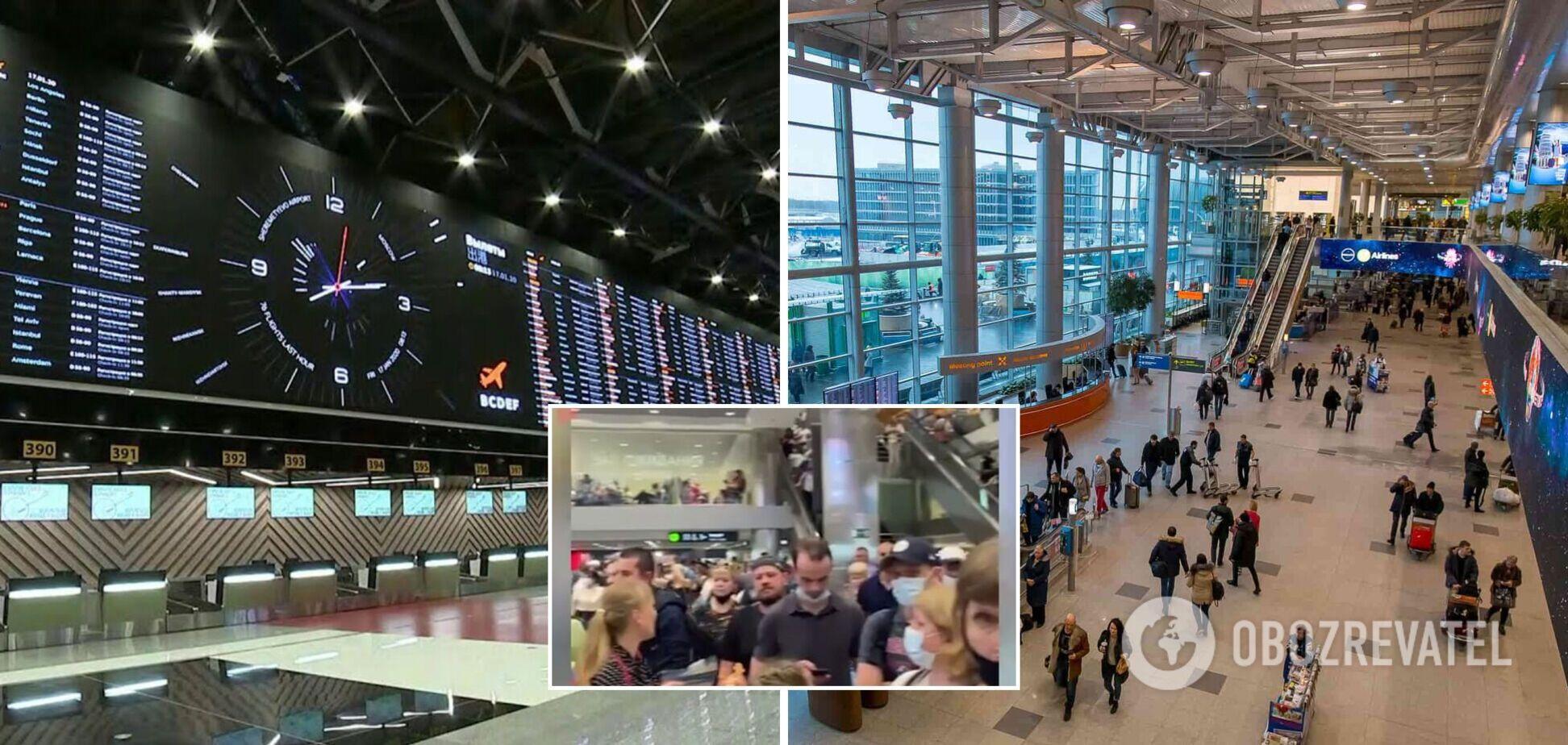 В Москве задержали и отменили десятки авиарейсов: видео столпотворения