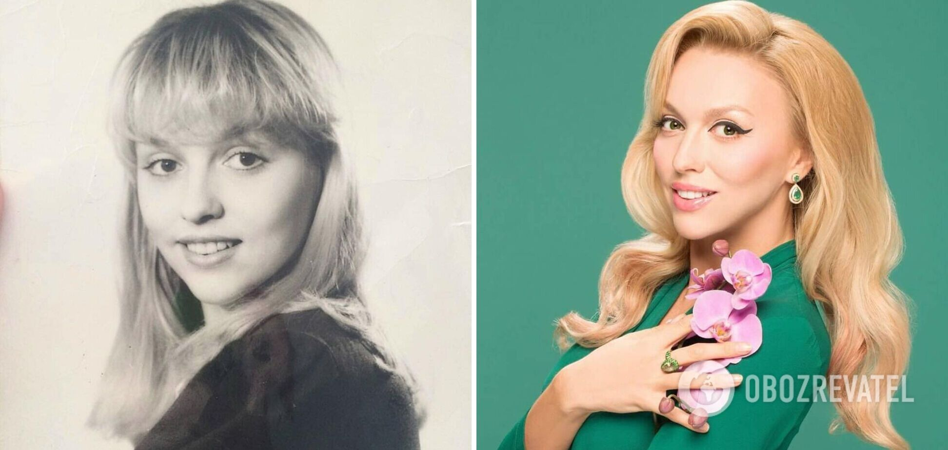 Як змінювалася Полякова: фото зірки на початку кар'єри