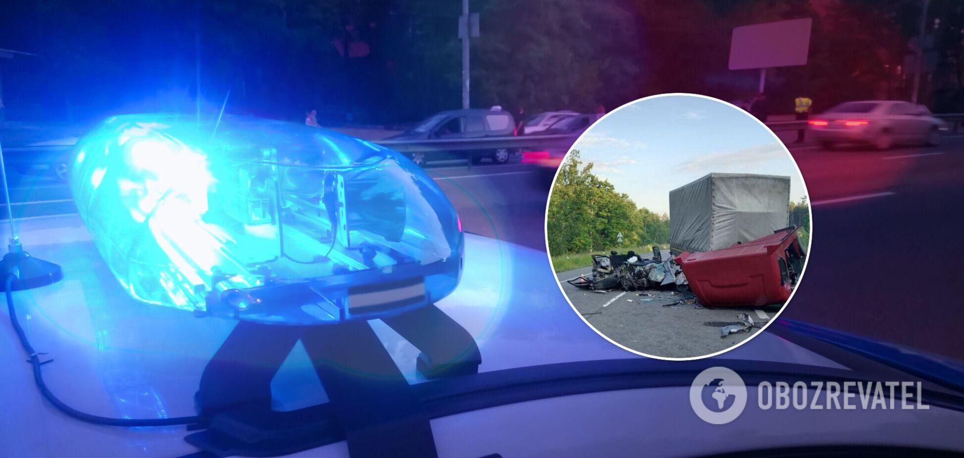 Обстоятельства аварии установят правоохранители