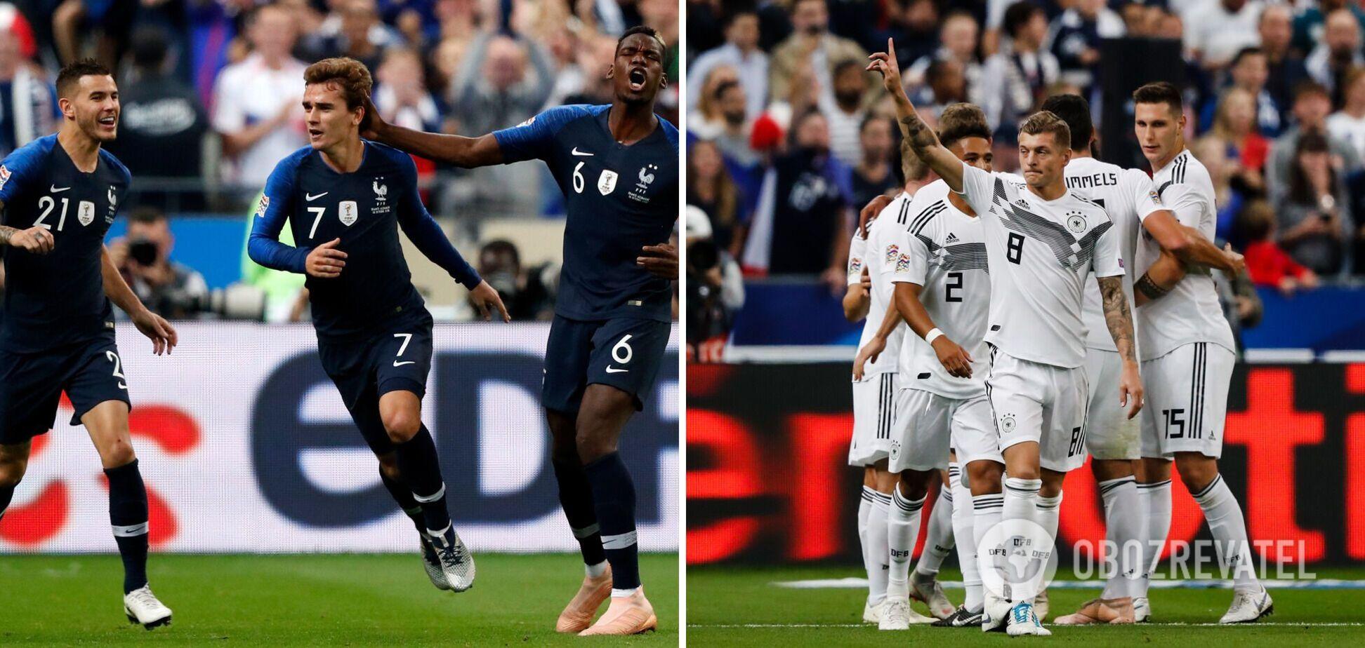 Франция Германия прогноз на матч Евро 2020