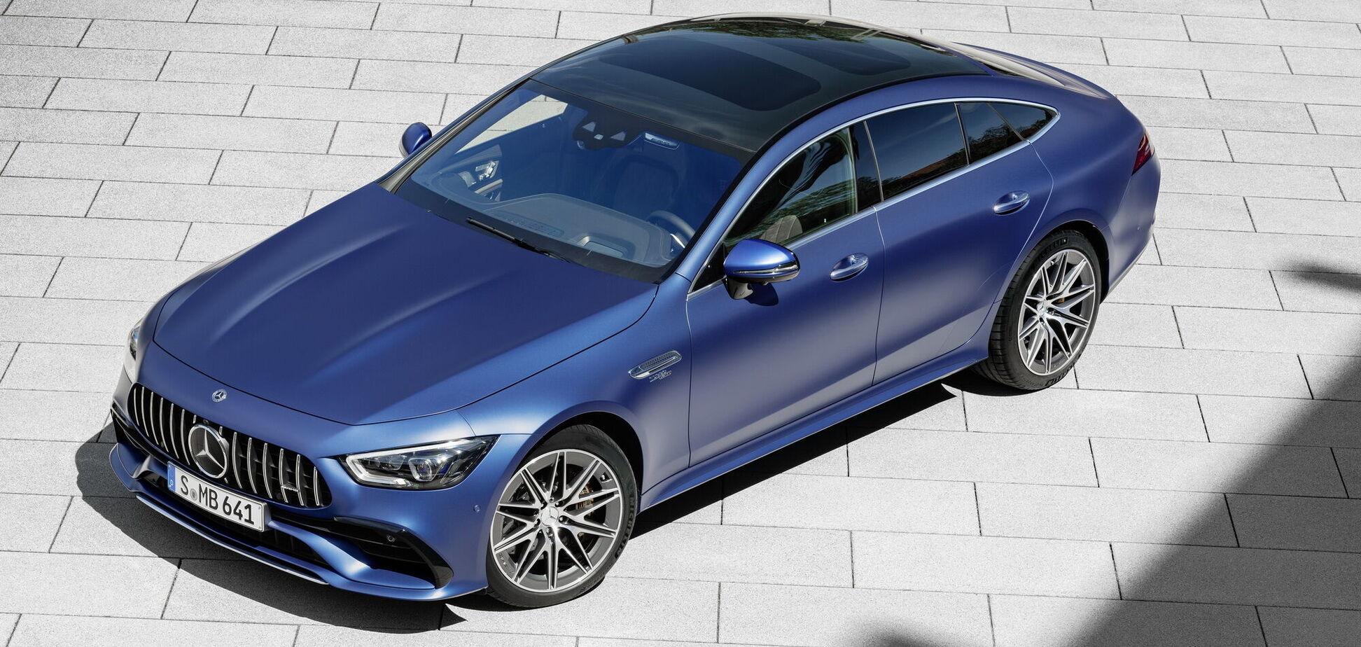 Mercedes-AMG показав оновлений GT 4-Door Coupe