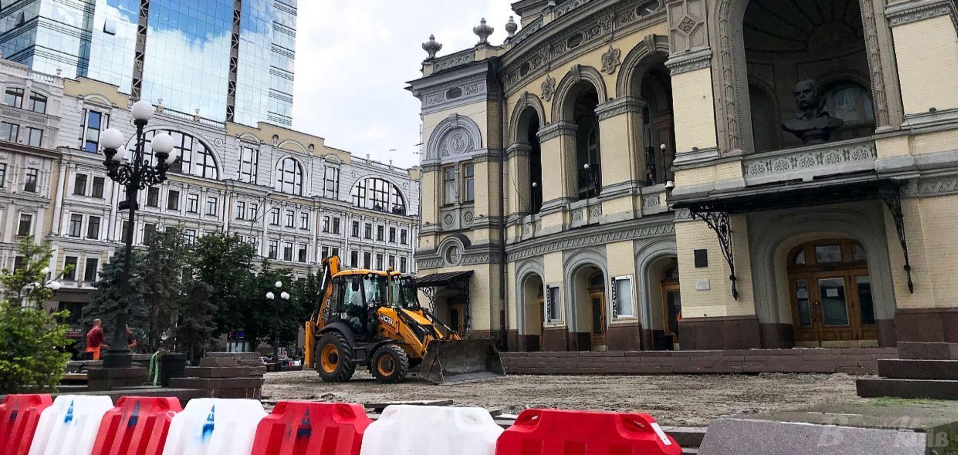 'Велике будівництво' допомагає столиці навести лад до Дня Незалежності
