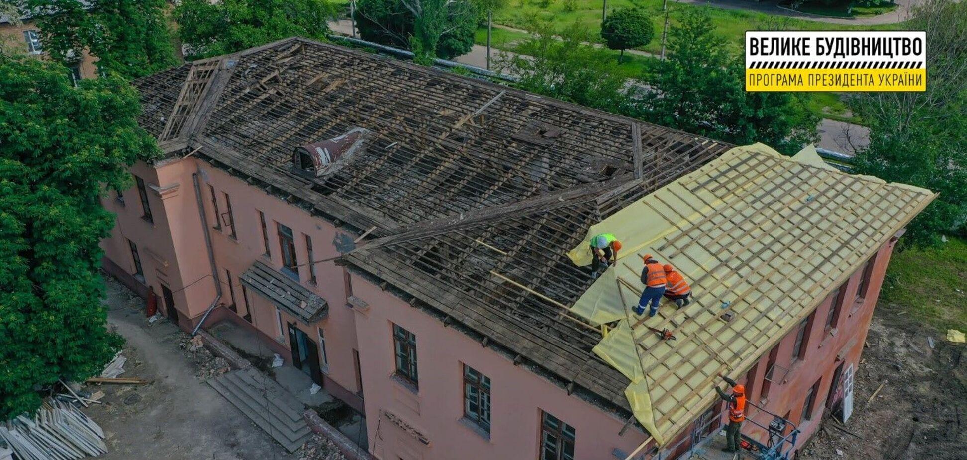 В Александрийской городской центральной больницы №1 начался капитальный ремонт по программе 'Большая стройка'