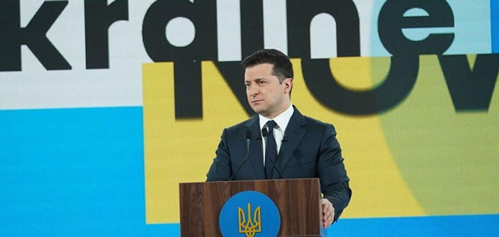 Президент выступил на форуме 'Украина 30'