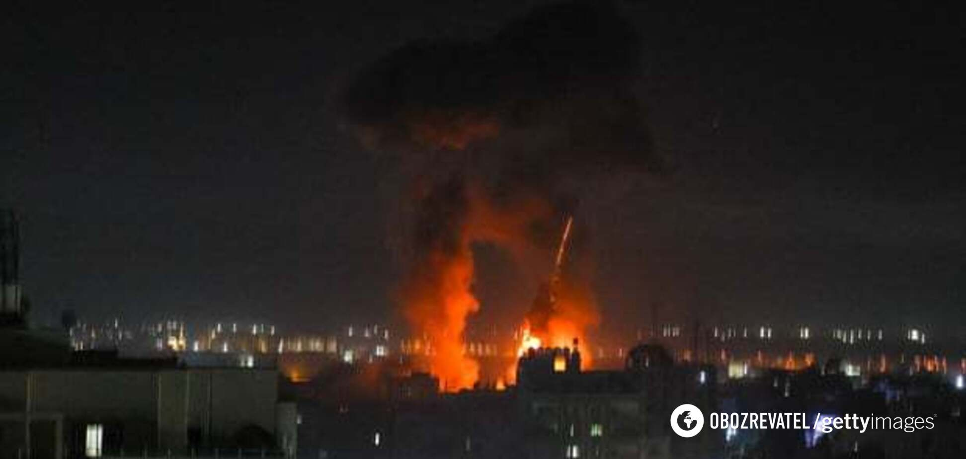 Израиль снова ударил по сектору Газа