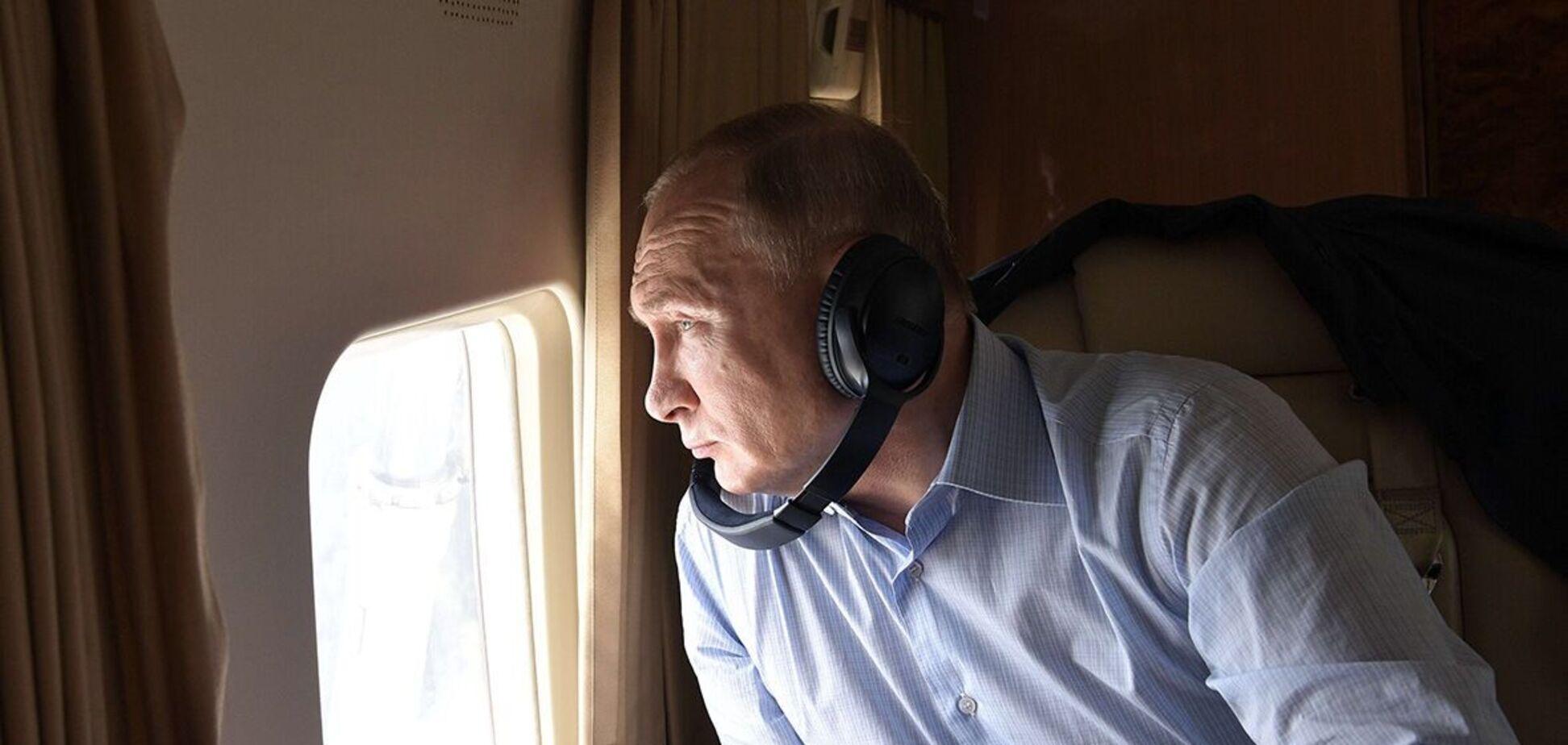 Самолет президента РФ приземлился в аэропорту Женевы