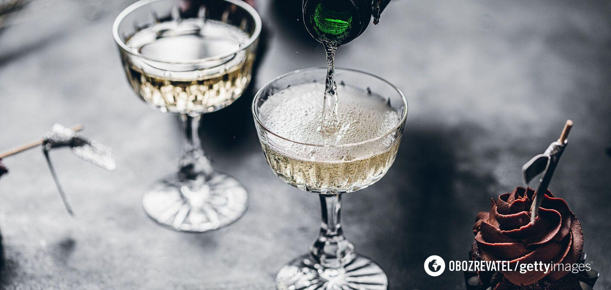 С чем лучше всего пить шампанское