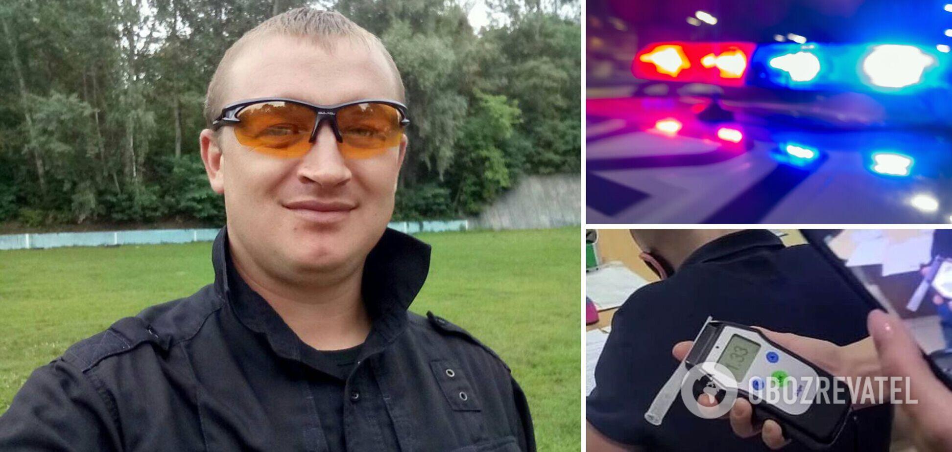 полицейский Роман Шахно