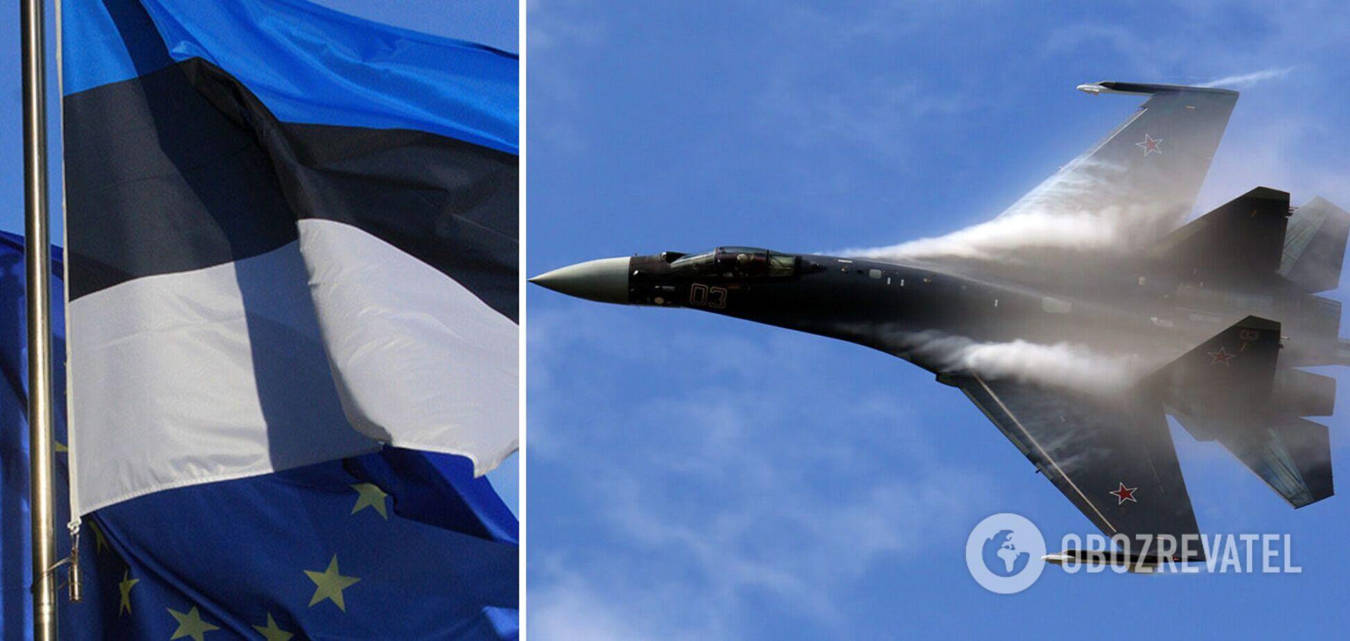 Эстония объявила о нарушении истребителями РФ своего воздушного пространства