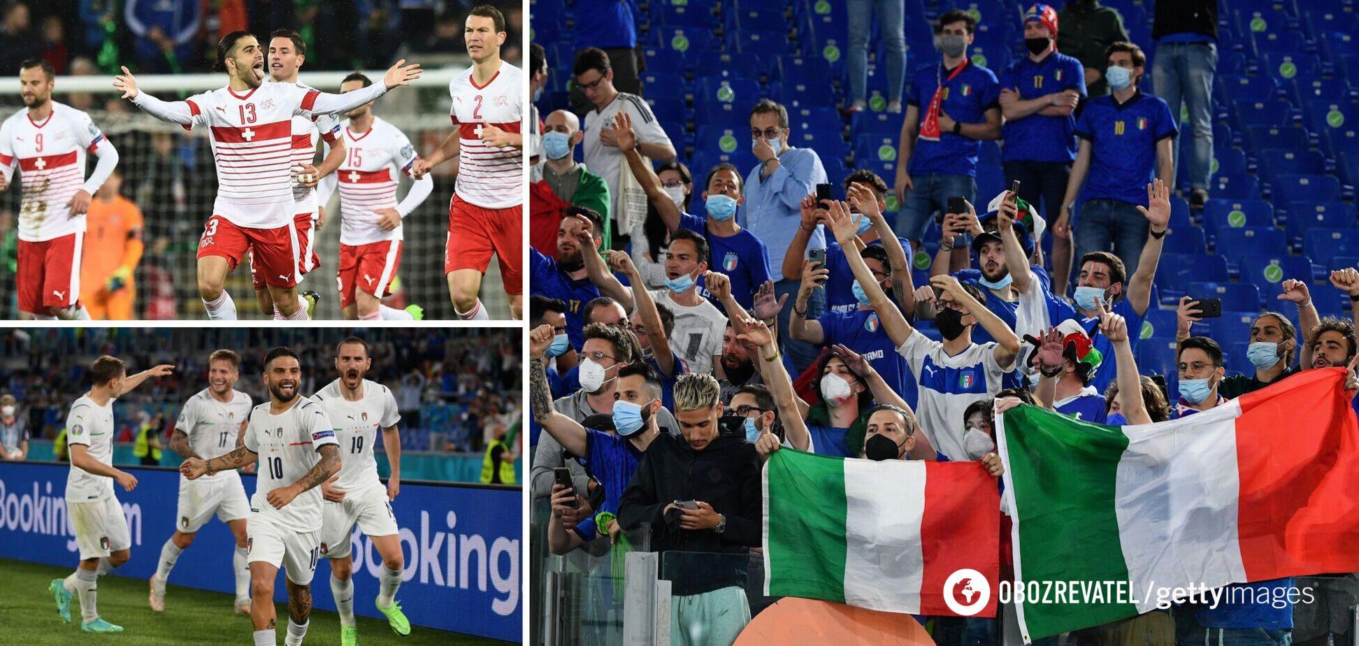 Италия против Швейцарии сыграет 16 июня