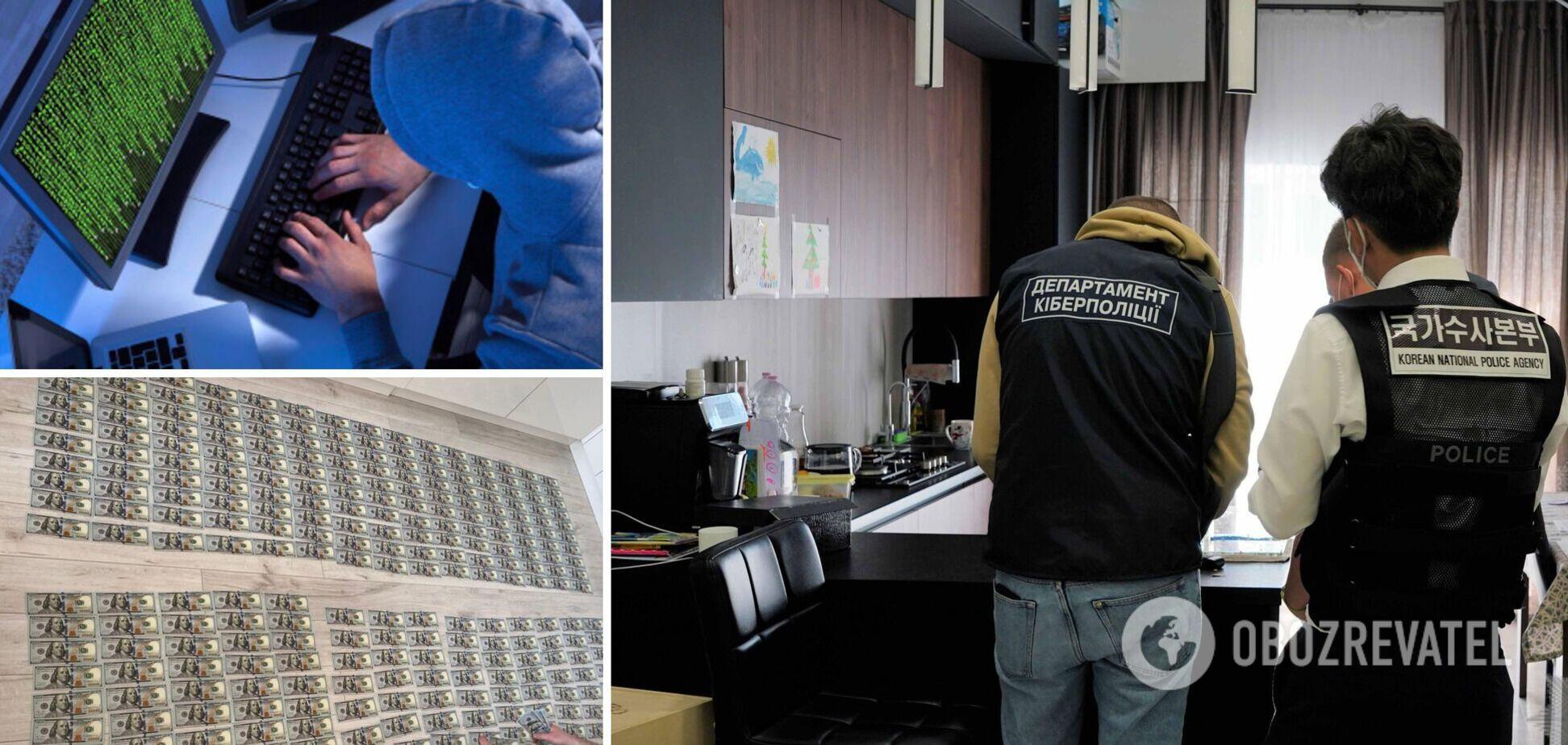В Україні викрили хакерів, які завдали шкоди на 500 млн доларів. Фото і відео