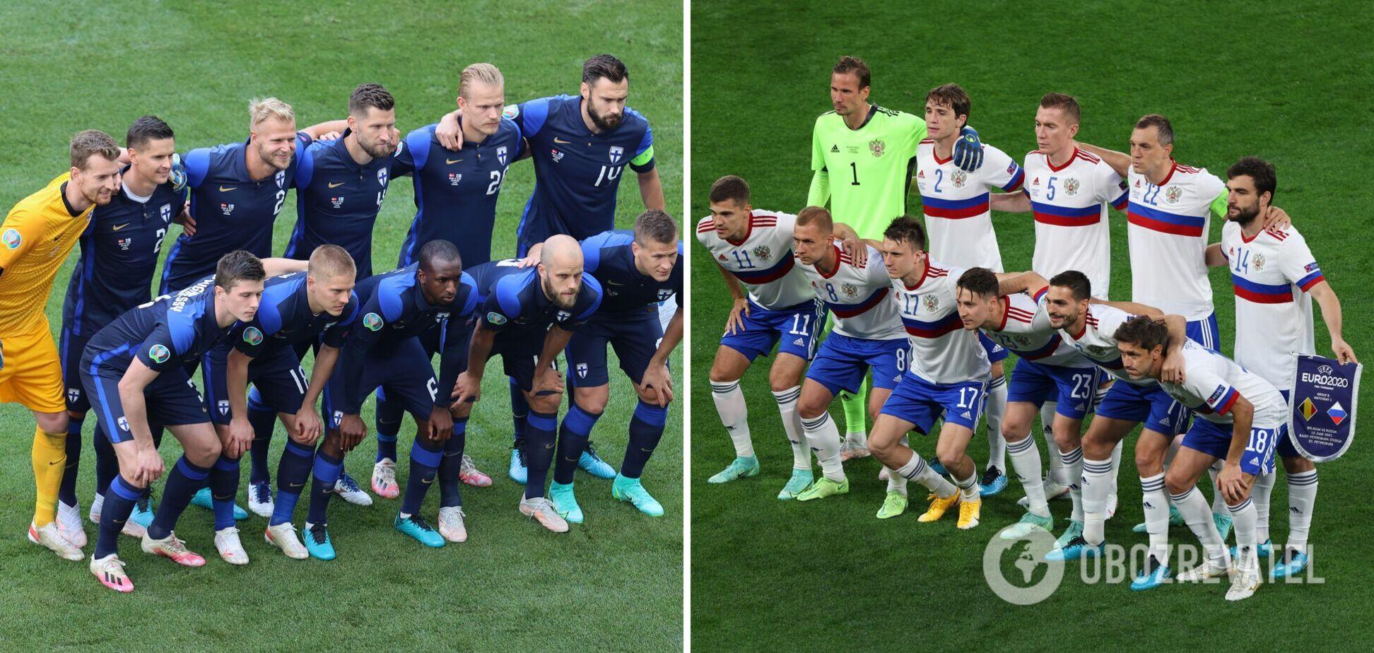 Финляндия Россия время начала матча