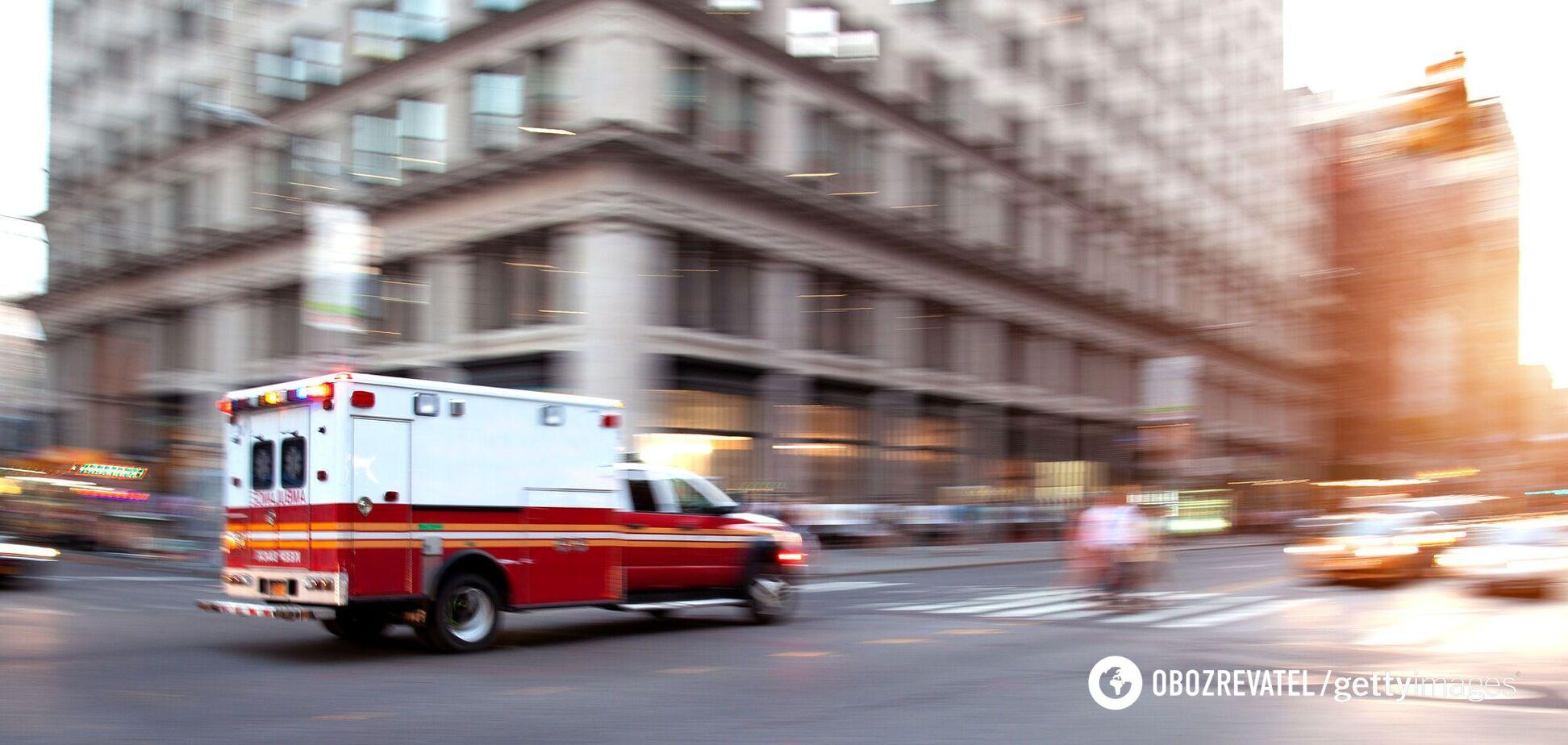 В США мужчина угнал скорую, чтобы отвезти себя в больницу