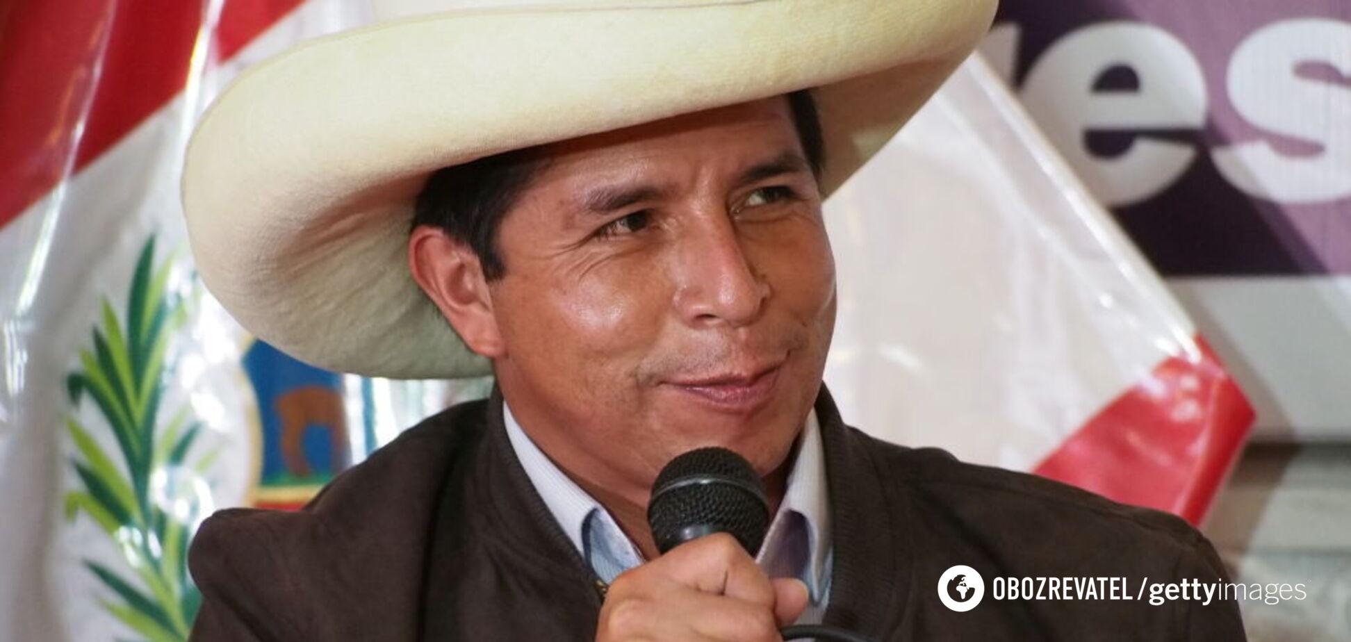 Педро Кастільо здобув перемогу на виборах в Перу