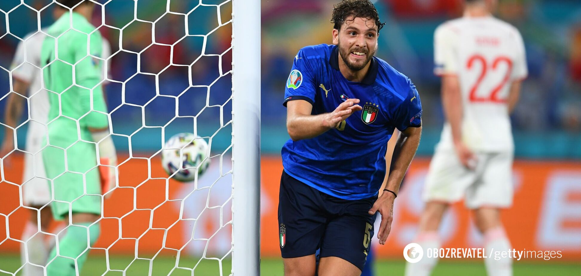 Італія – Швейцарія: відео голів матчу Євро-2020