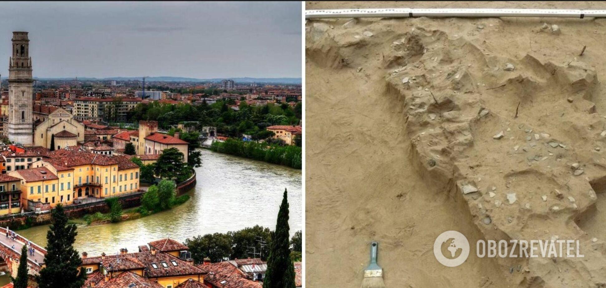 У Вероні розкопали давньоримський будинок