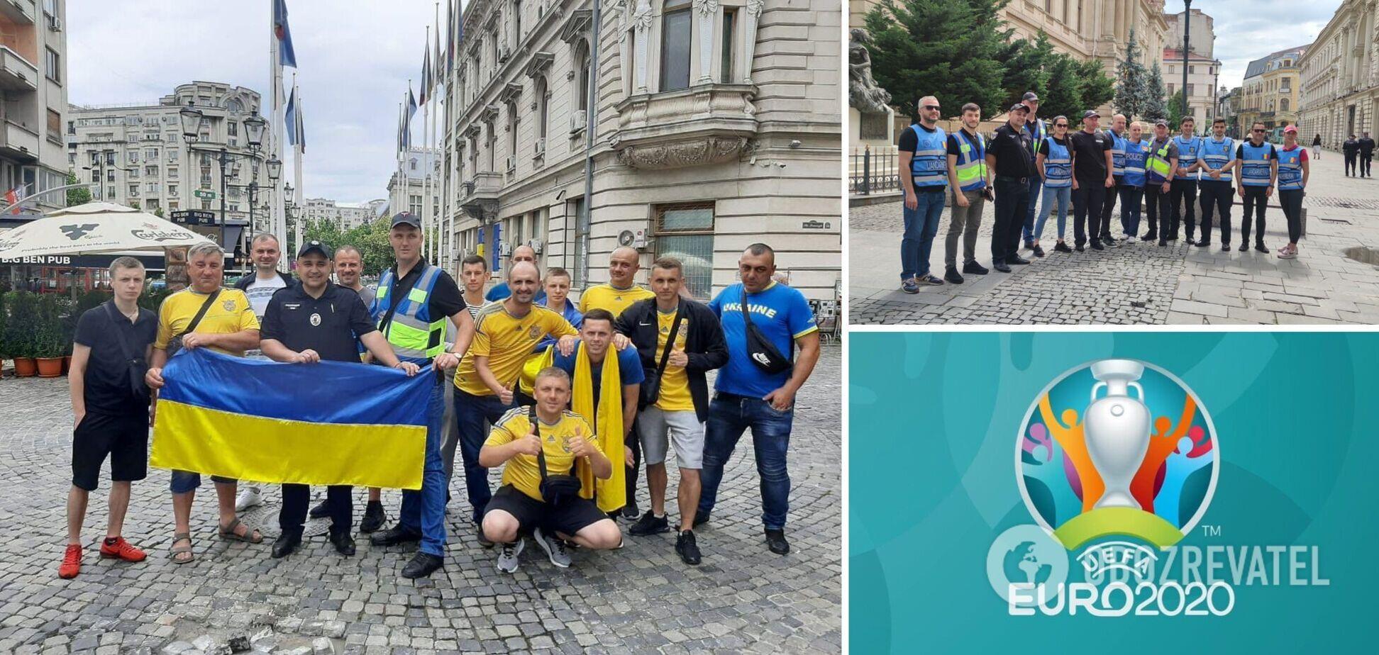 Українські поліцейські на Євро-2020