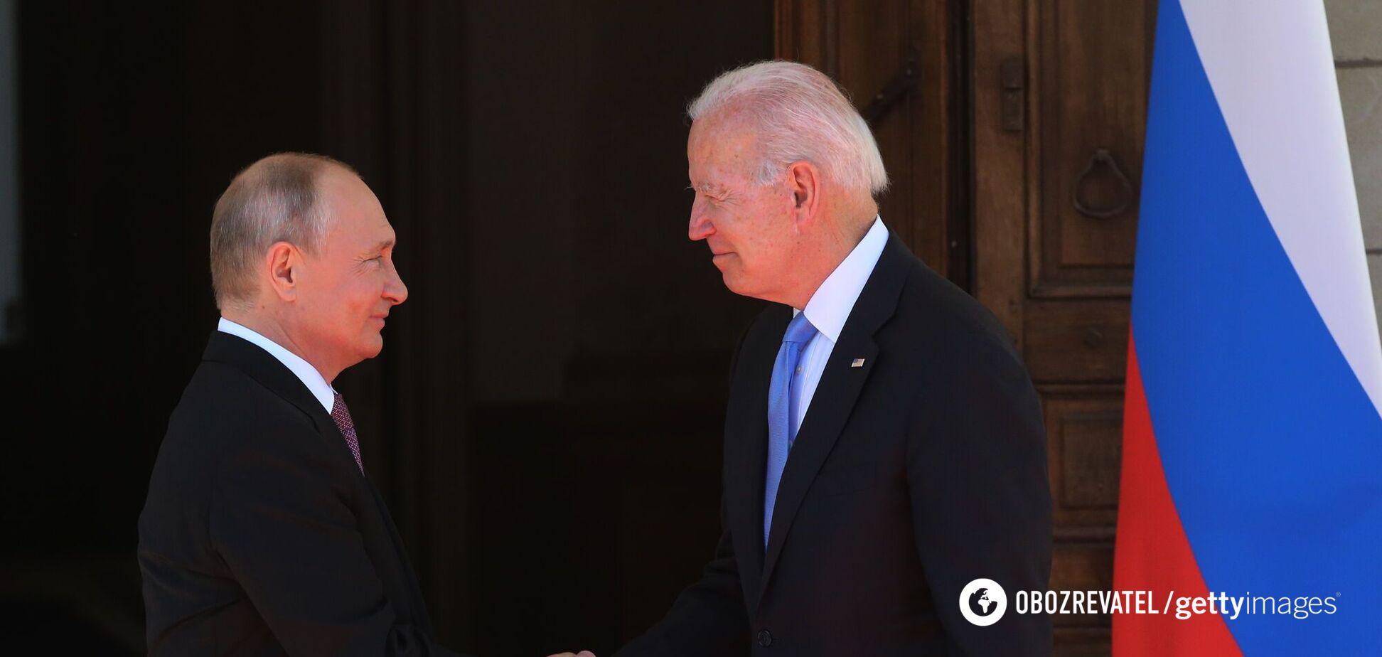 Путін розповів про першу бесіду з Байденом після фрази про 'вбивцю'