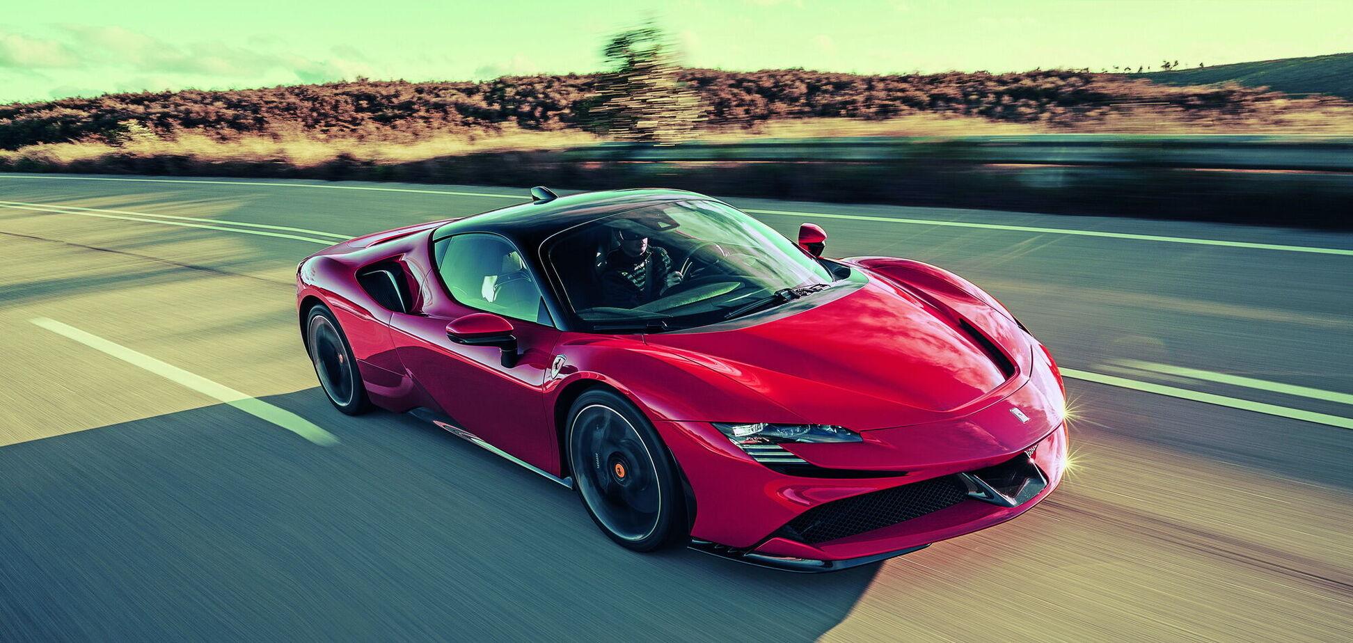 Ferrari анонсувала дату дебюту гібридного суперкара