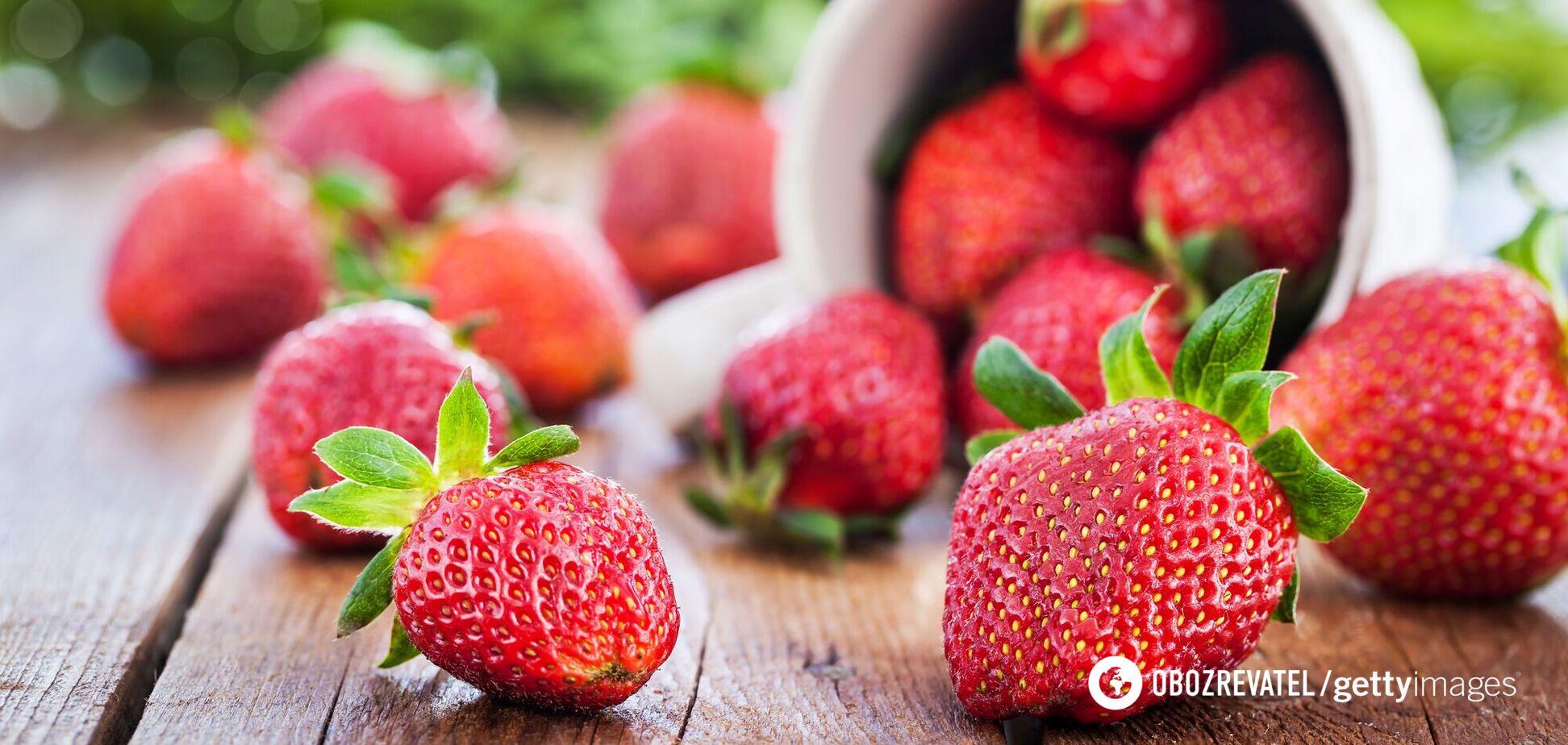 Як позбутися від нітратів у полуниці