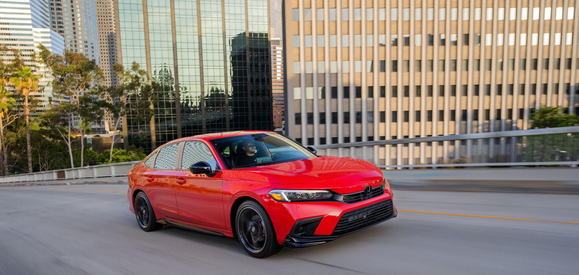 Honda представила новое поколение Civic Sedan