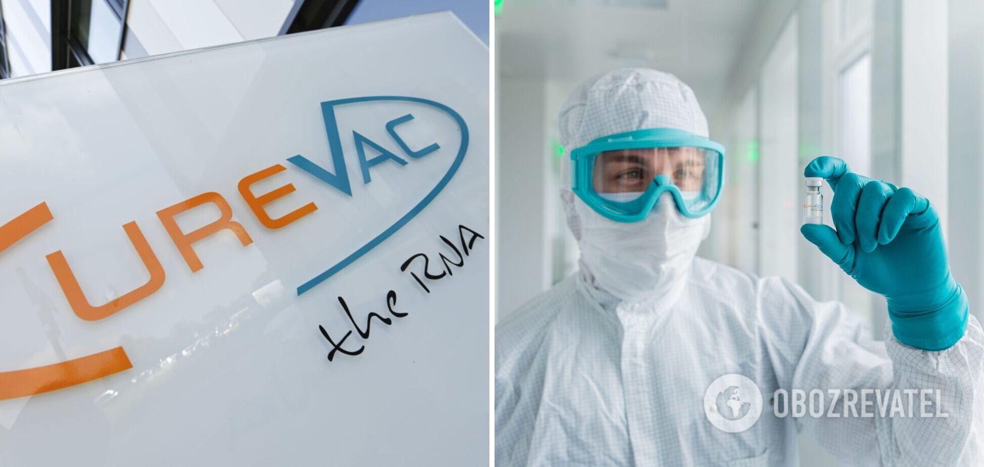 Немецкая вакцина CureVac показала 48% эффективности против коронавируса