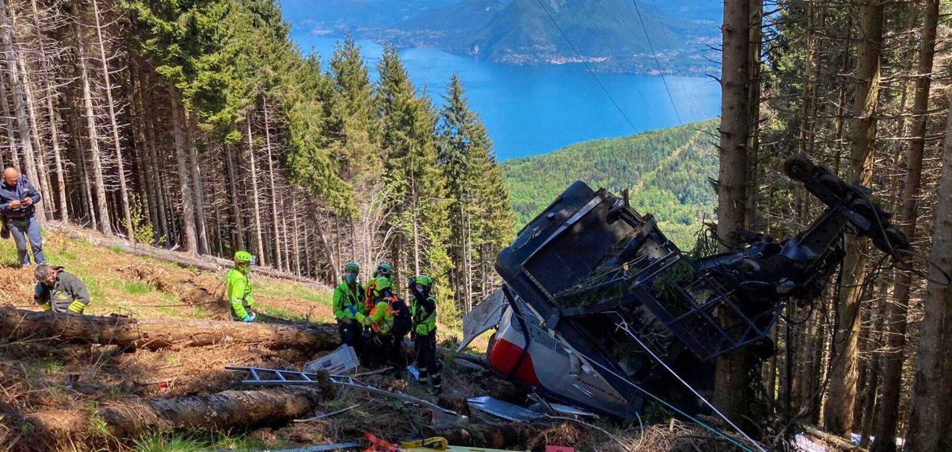 В Італії загинули 14 людей під час аварії фунікулера