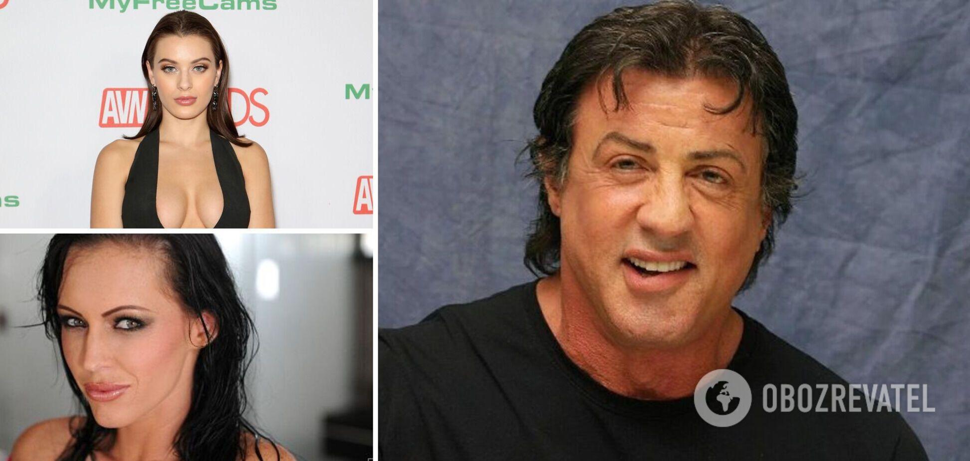 Известные звезды начинали карьеру в порно