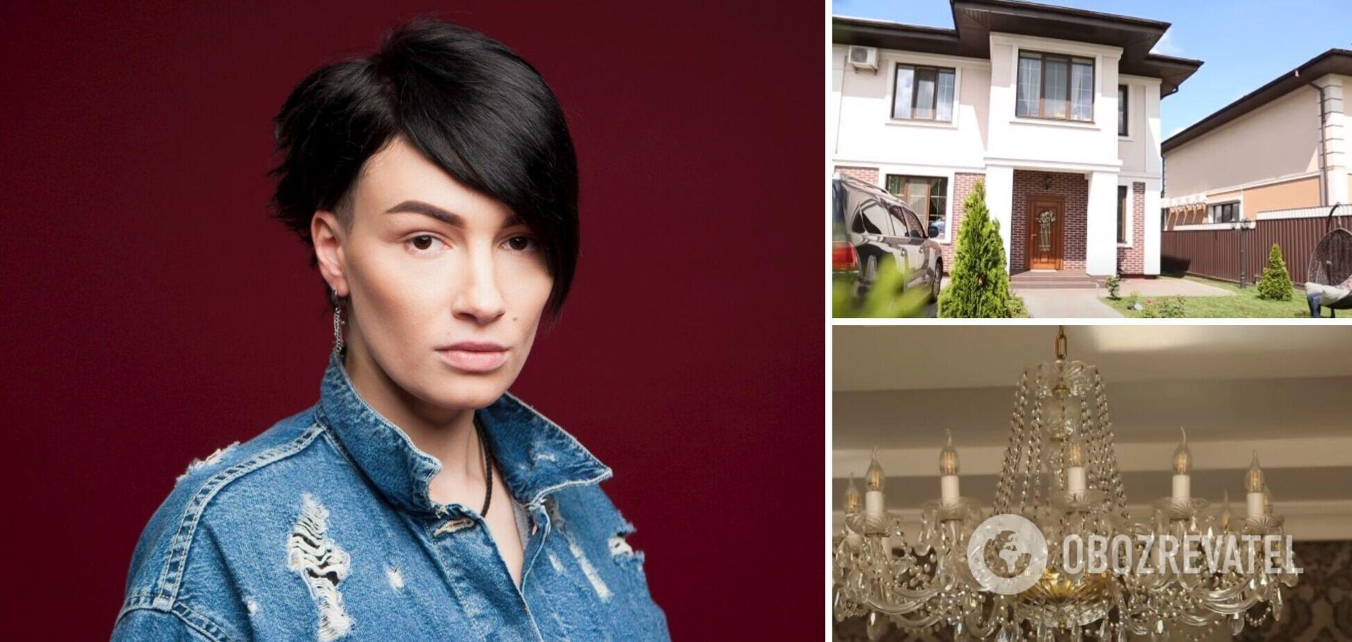 Приходько показала свой элитный особняк с люстрой за 30 тысяч гривен. Фото и видео